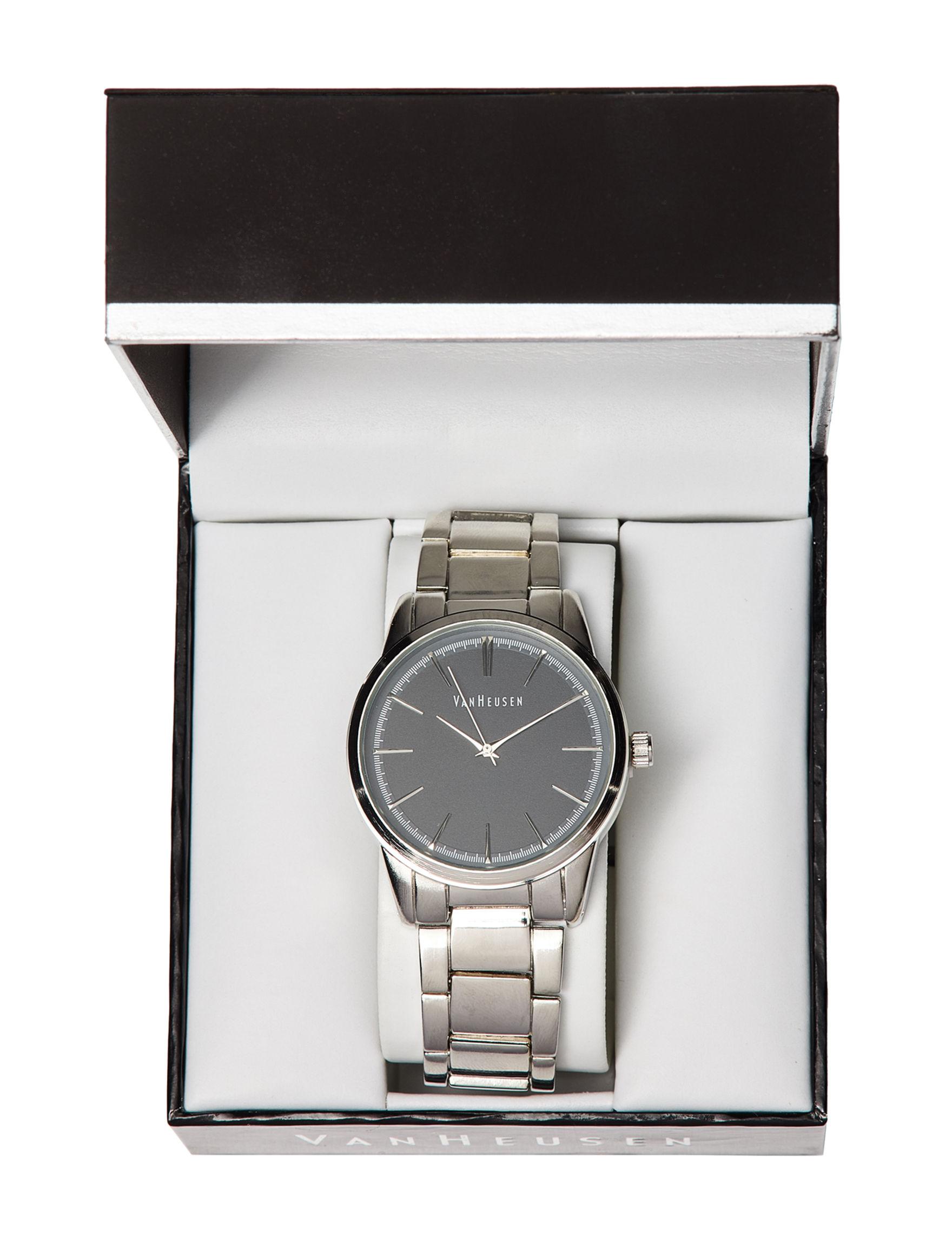 Van Heusen Silver Fashion Watches