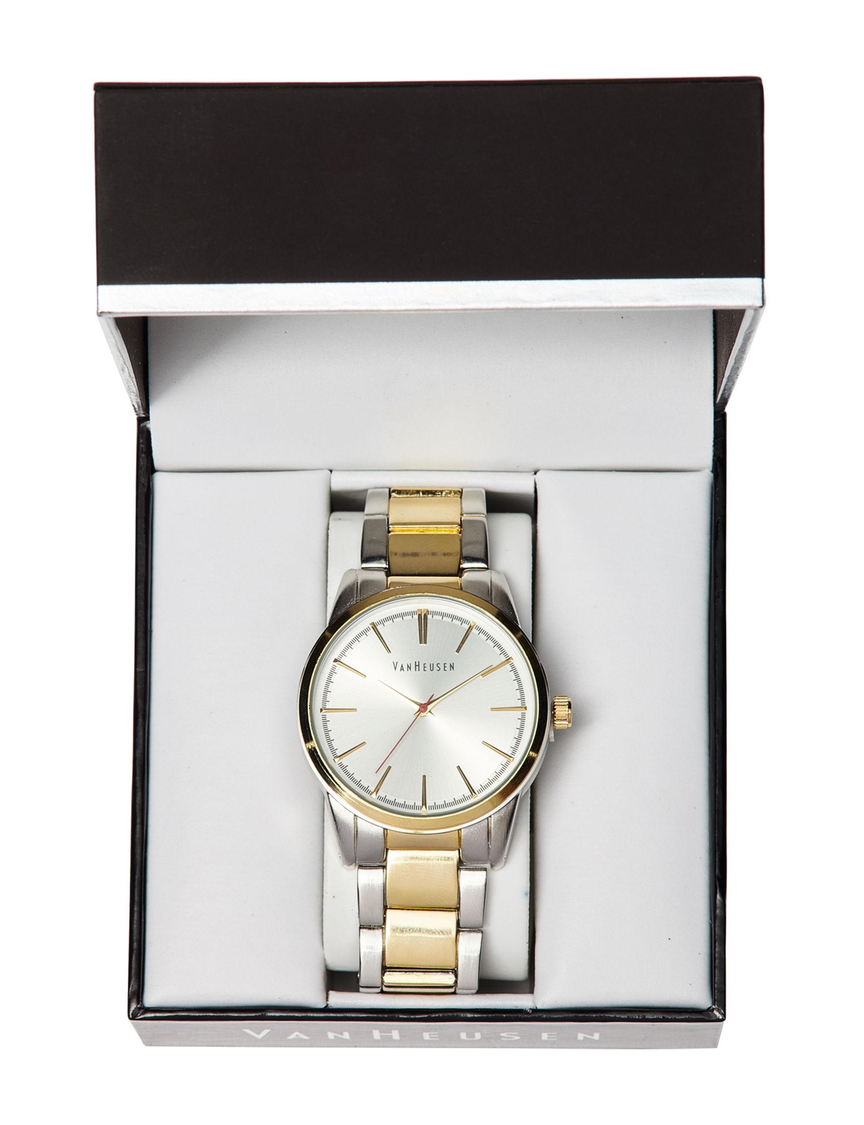 Van Heusen Two Tone Fashion Watches