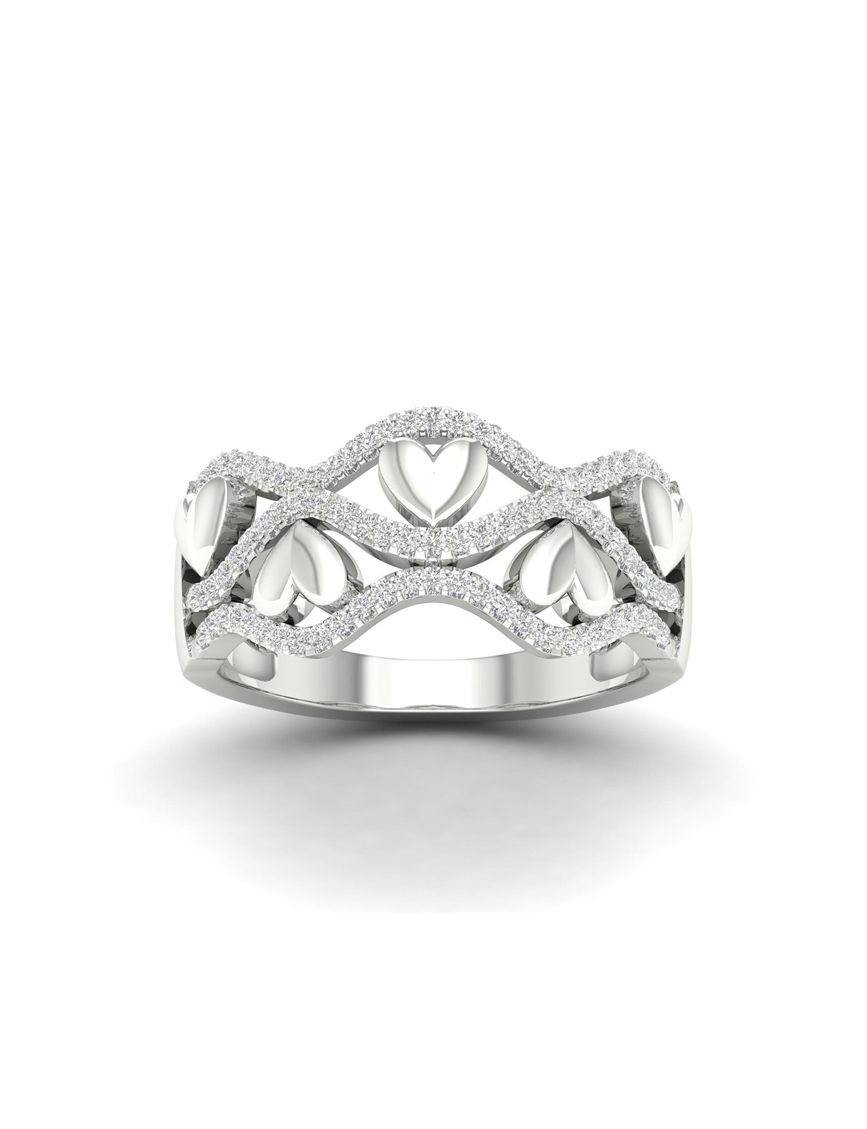 De Couer White Gold Rings Fine Jewelry