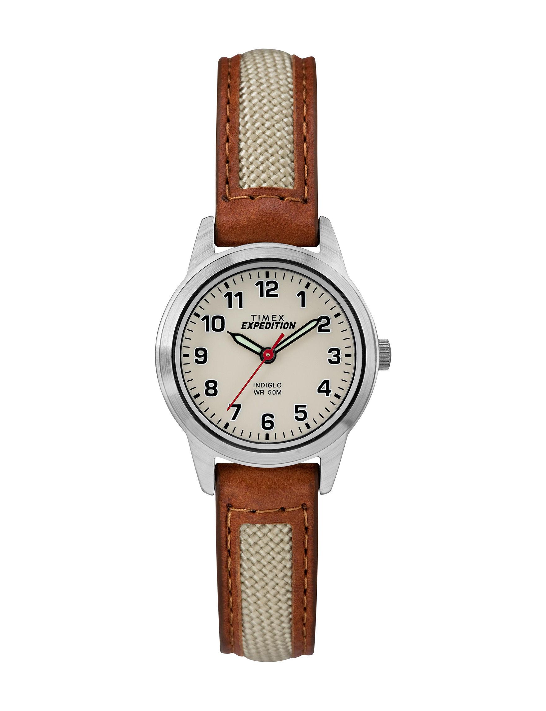 Timex Tan Sport Watches