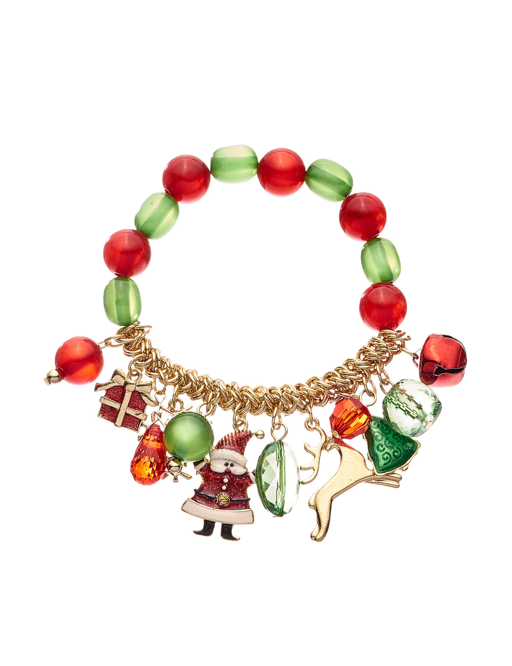 Hannah Green / Red Bracelets Fashion Jewelry