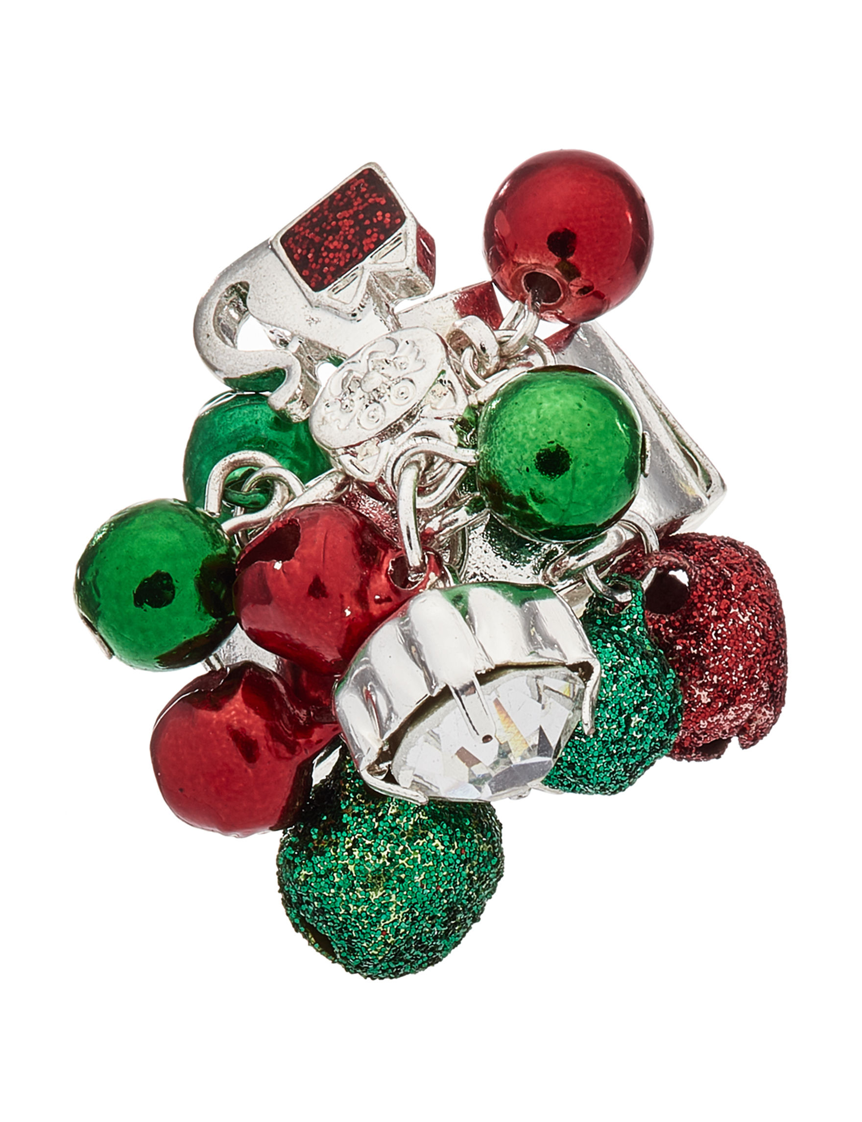 Hannah Multi Color Rings Fashion Jewelry