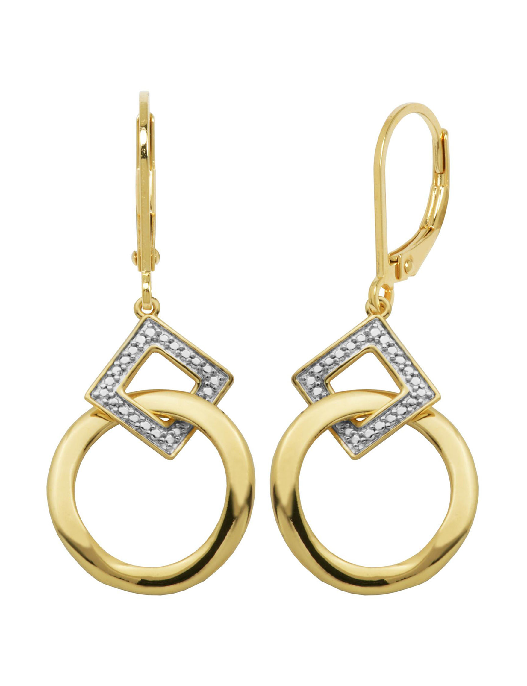 PAJ INC. Diamonds Drops Earrings Fine Jewelry