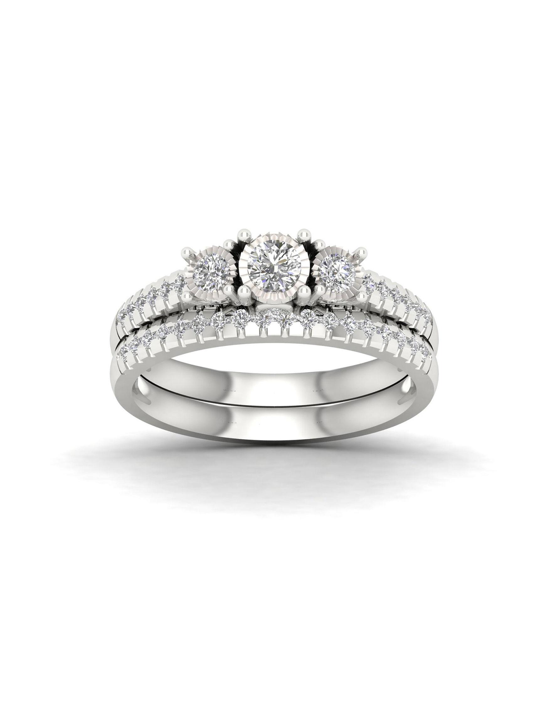 De Couer Silver Rings Fine Jewelry