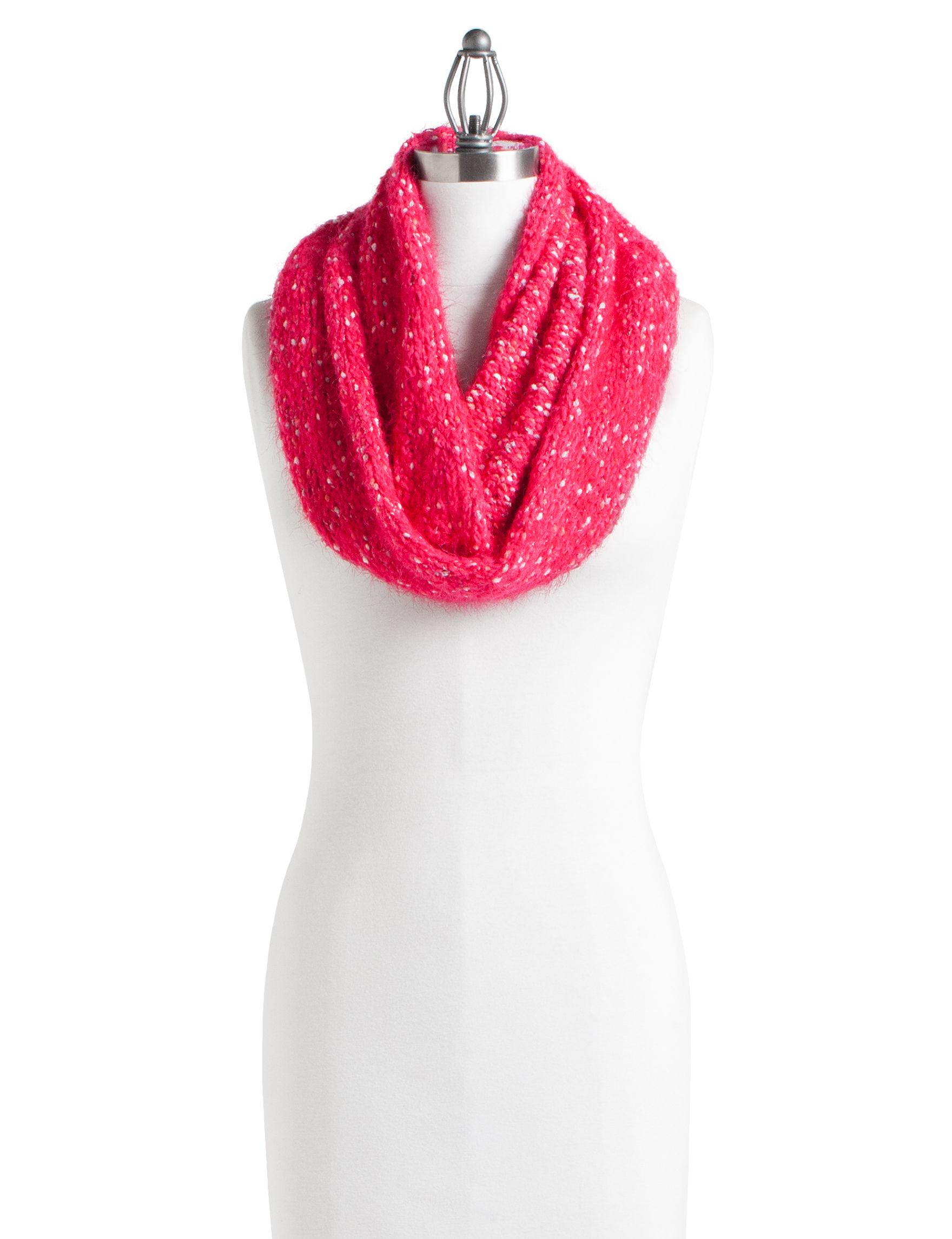 Cuddl Duds Pink Scarves & Wraps Infinity & Loops