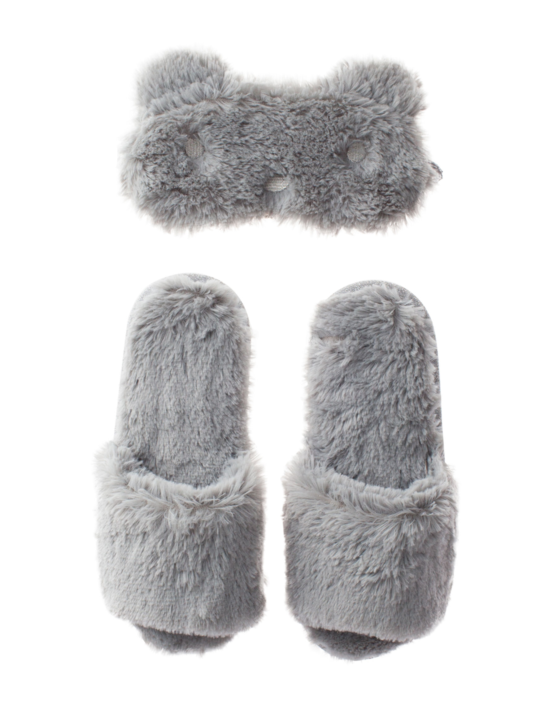 PJ Couture Grey Slipper Shoes