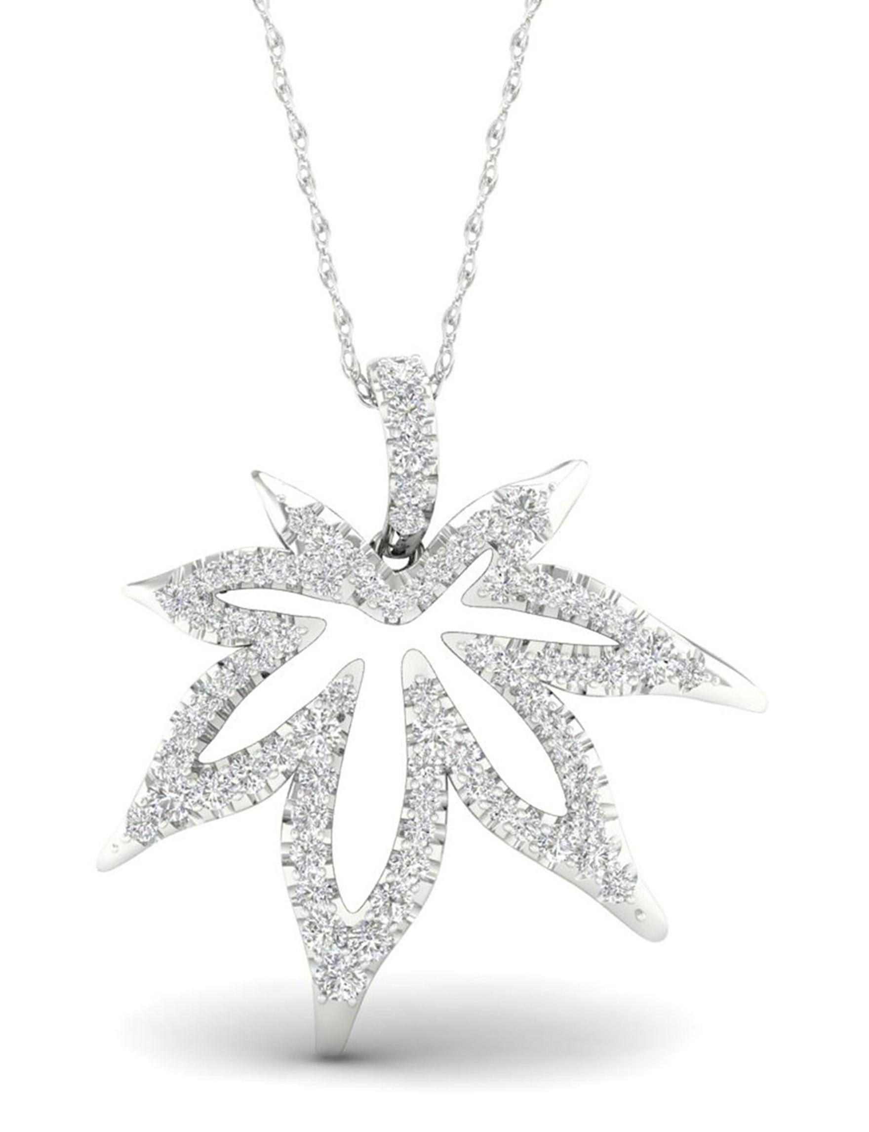 De Couer Silver Necklaces & Pendants Fine Jewelry
