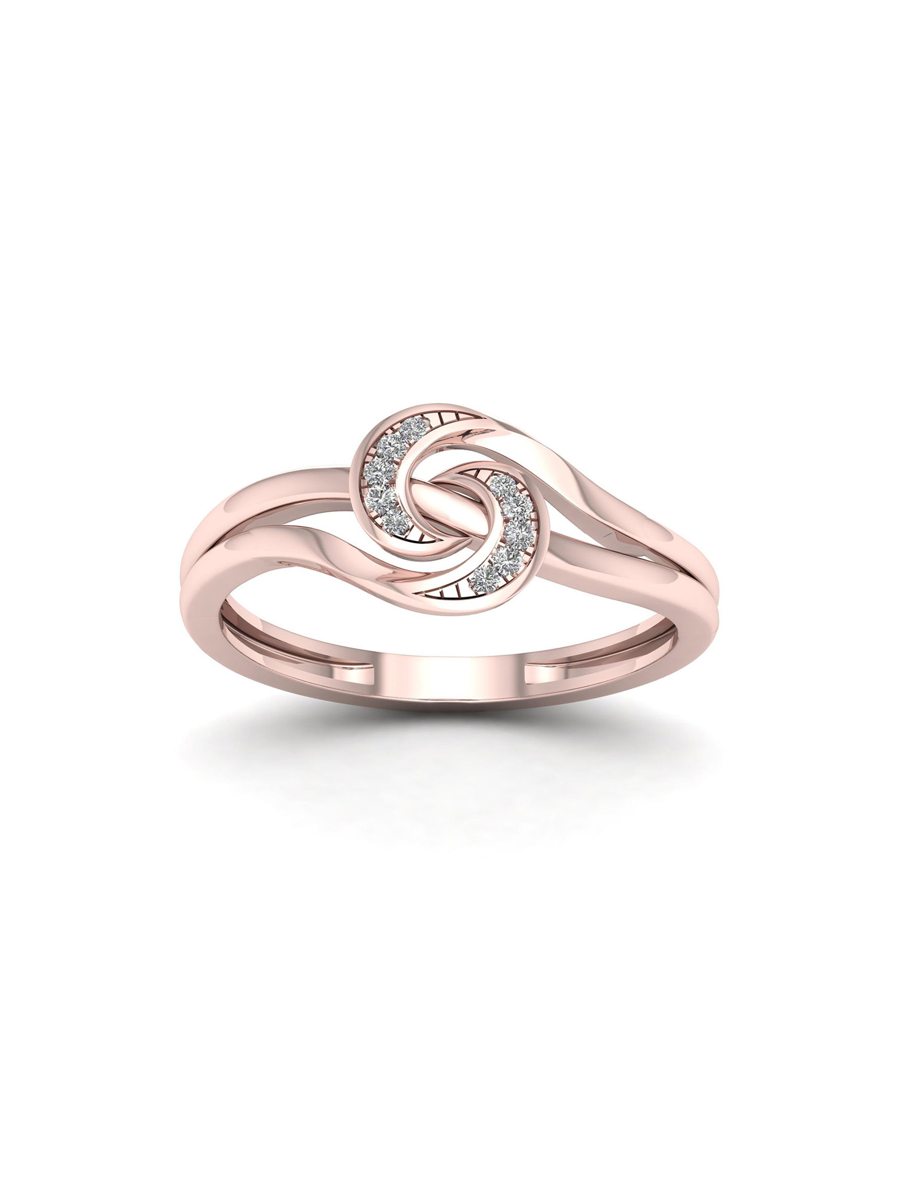 De Couer Rose Gold Rings Fine Jewelry