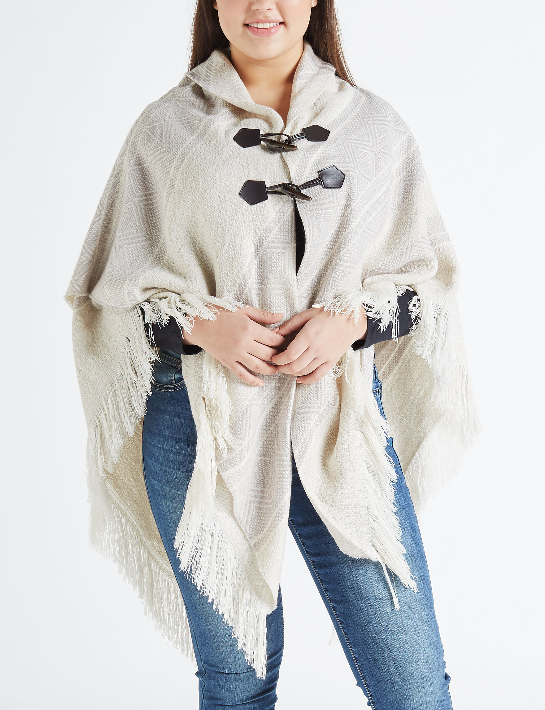 Lake Shore Drive Beige / Multi Scarves & Wraps