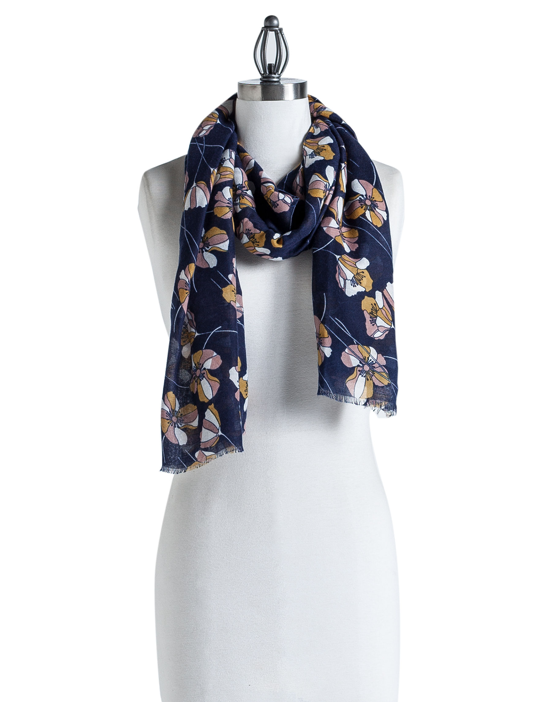 Nine West Navy Scarves & Wraps Scarves