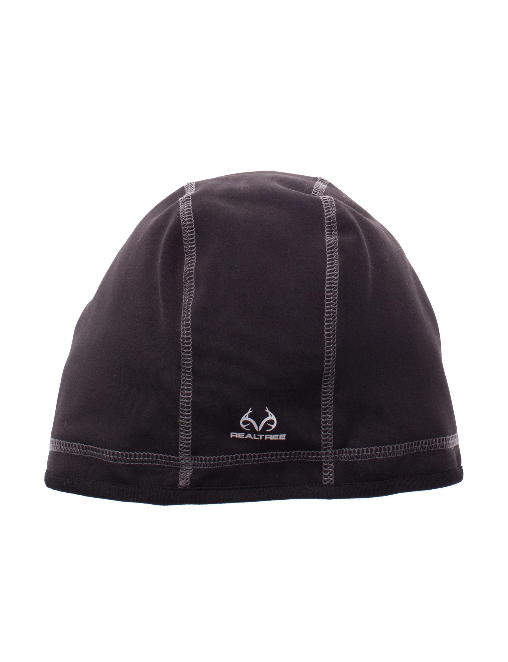 Realtree Black Hats & Headwear