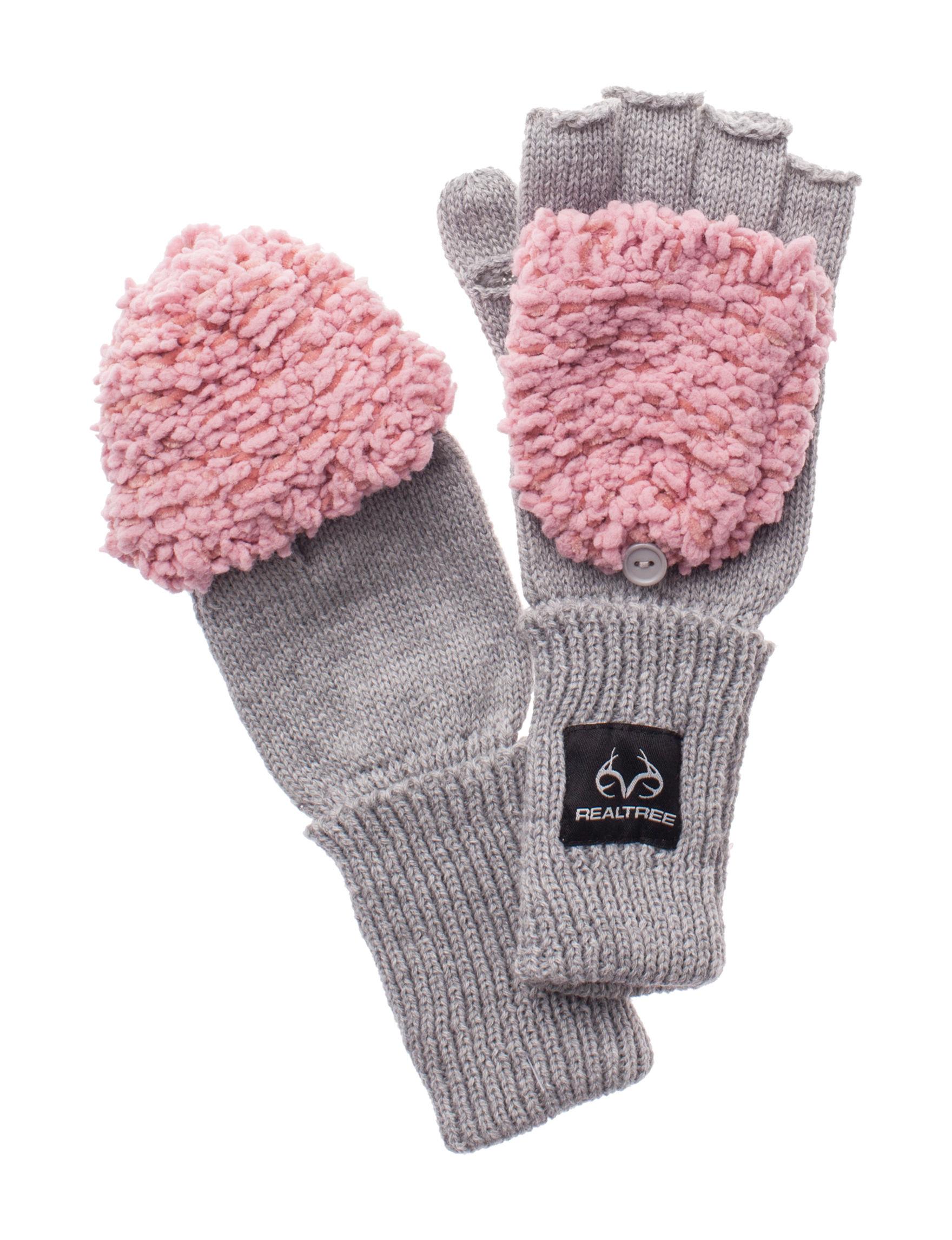 Realtree Ivory / Black Gloves & Mittens