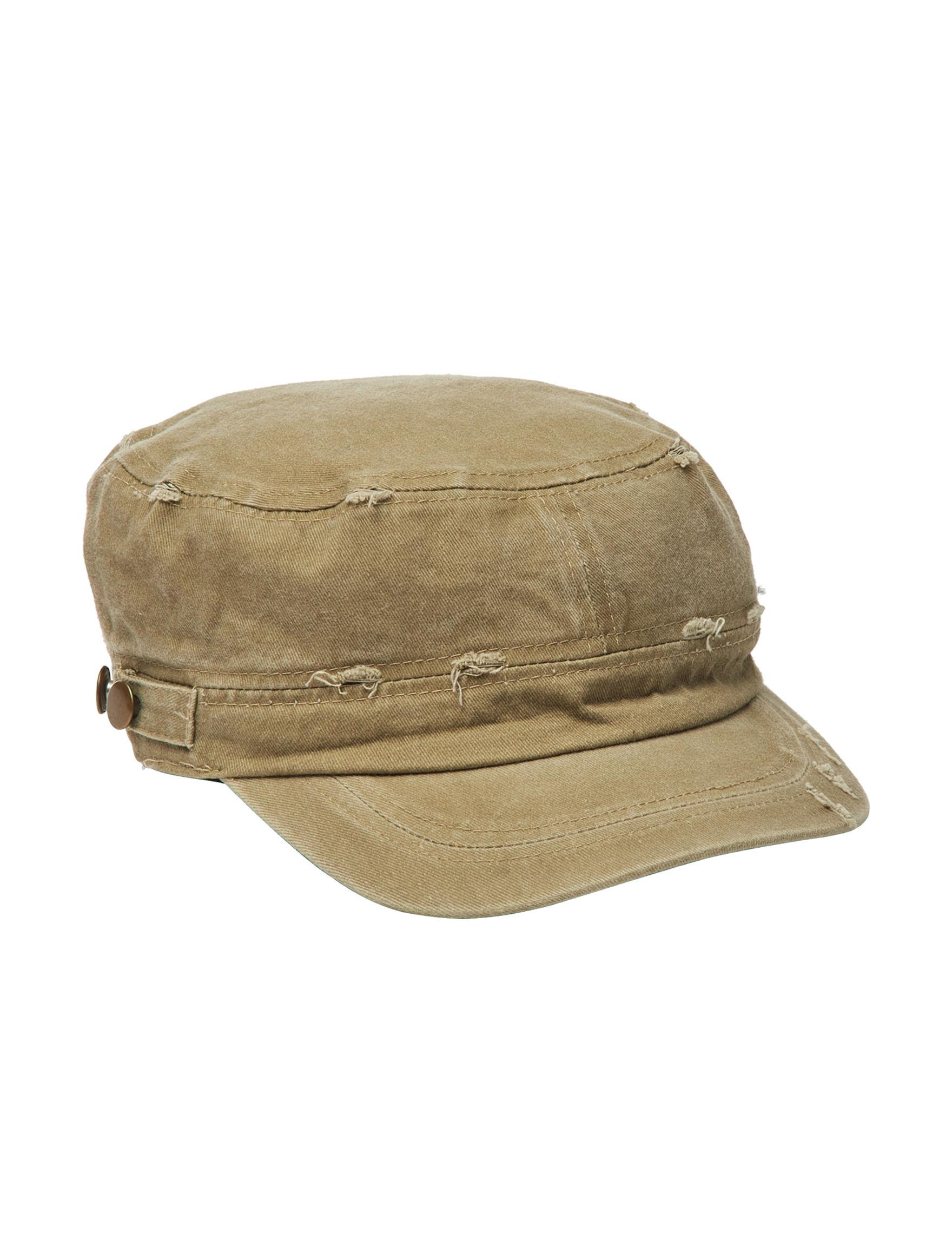 David & Young Dark Khaki Hats & Headwear