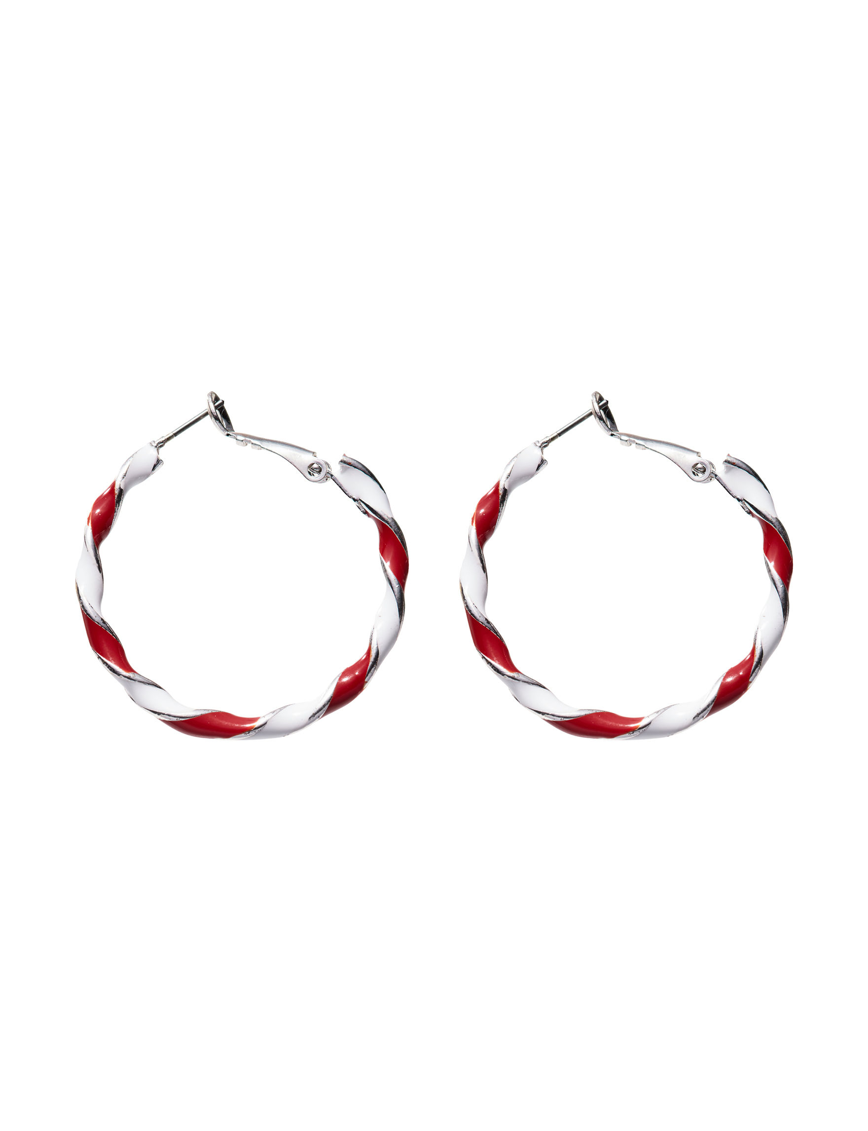 Hannah Silver / Multi Hoops Earrings Fashion Jewelry