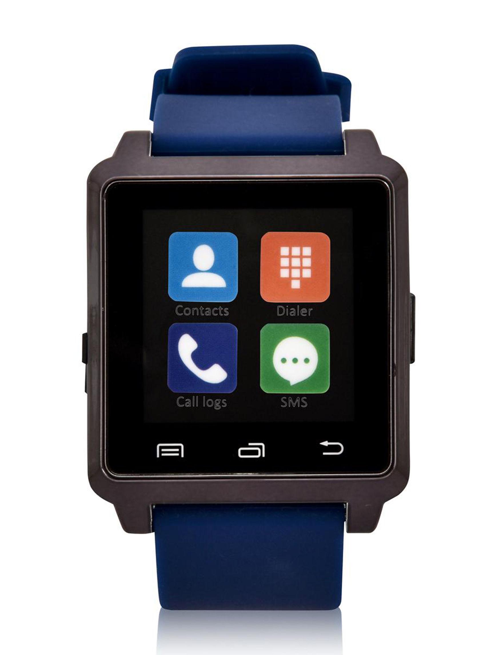 Accutime Black / Blue Fashion Watches