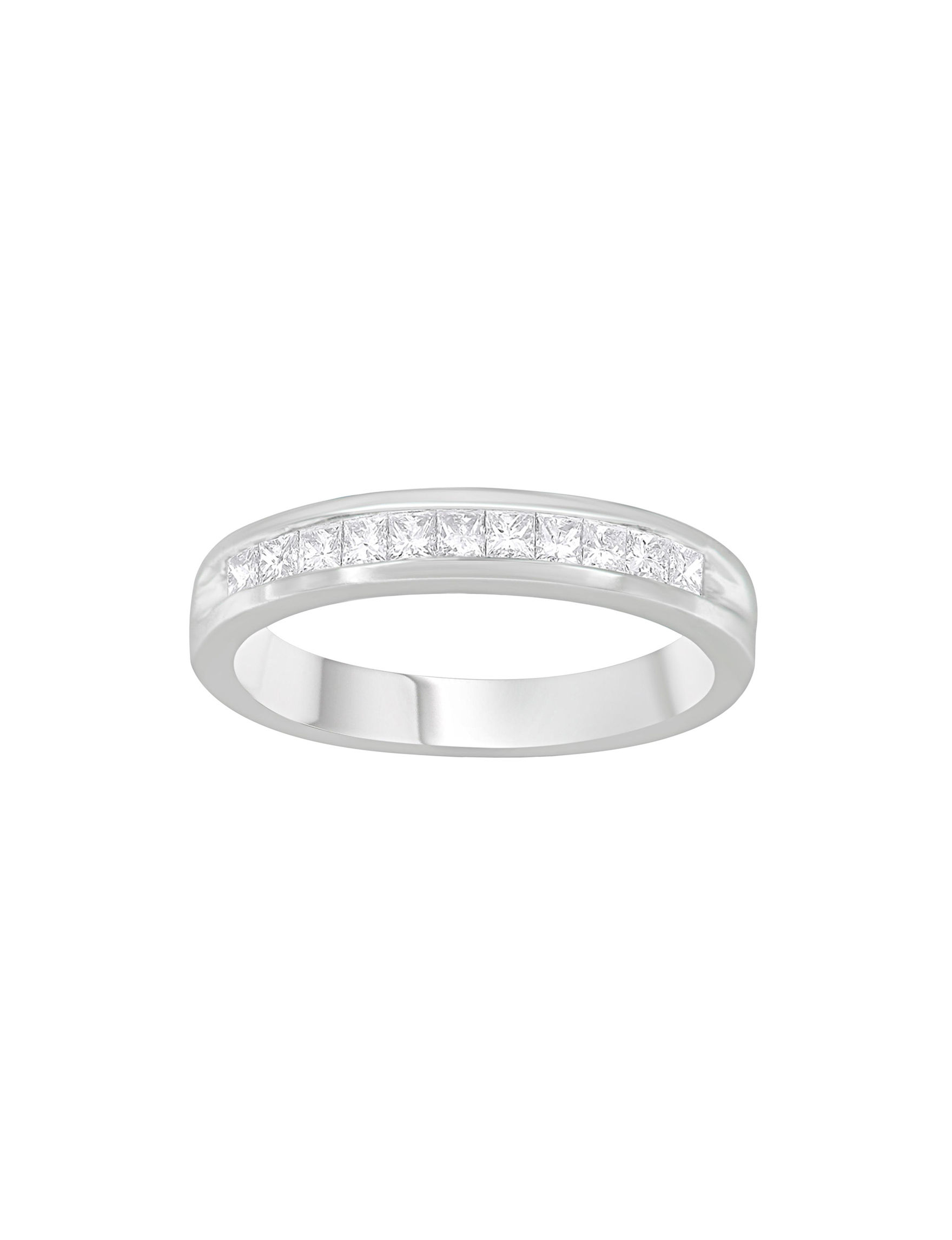 Original Classics White Gold Rings Fine Jewelry
