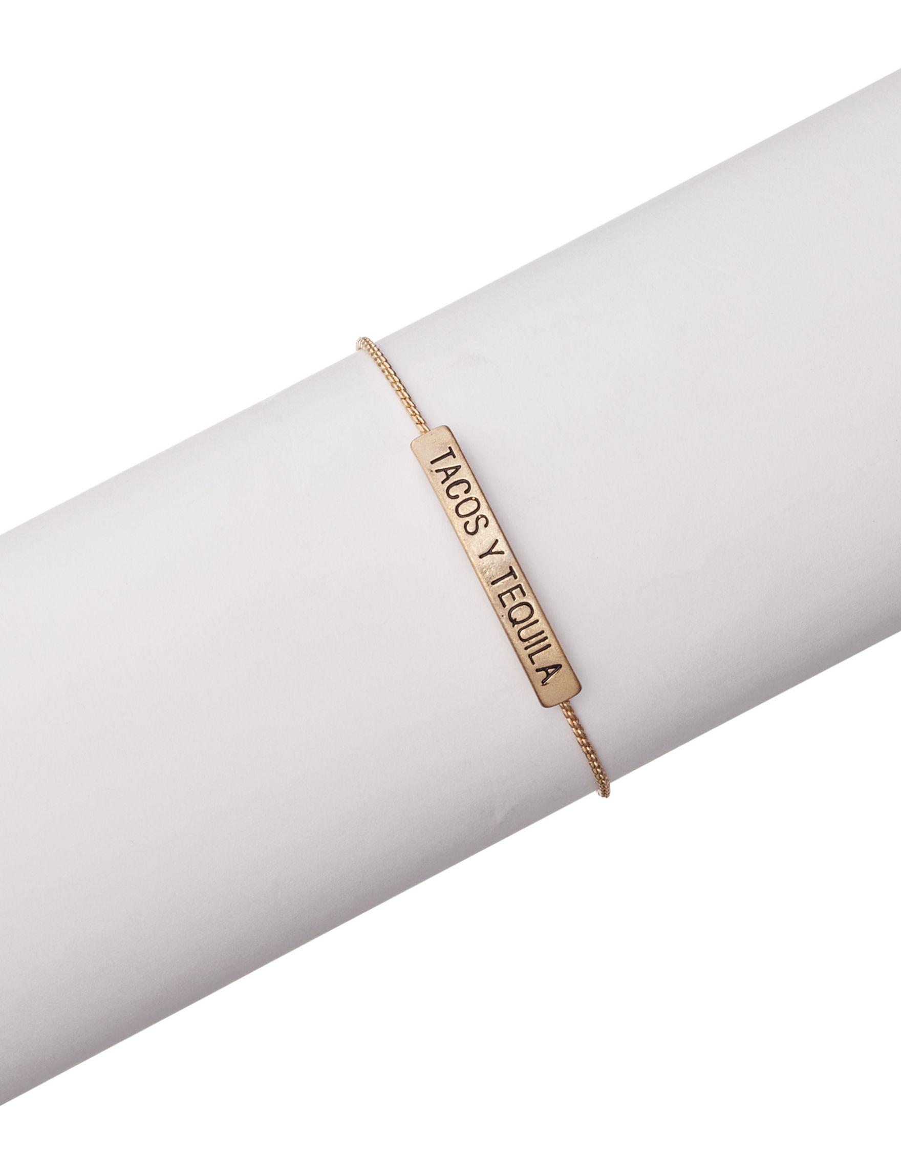 Tanya Silver / Gold Bracelets Fashion Jewelry
