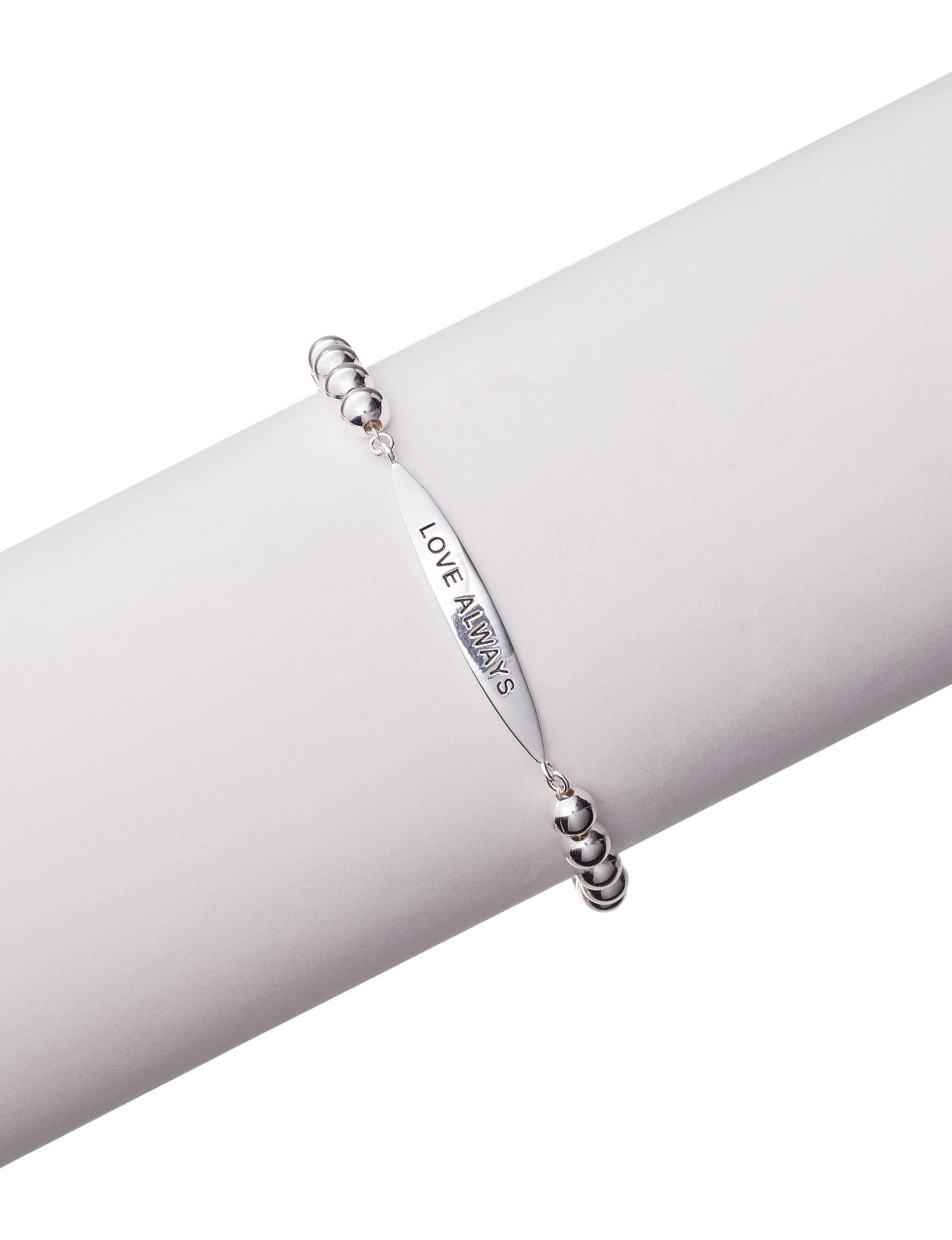 Marsala Fine Silver Plated Bracelets Fine Jewelry