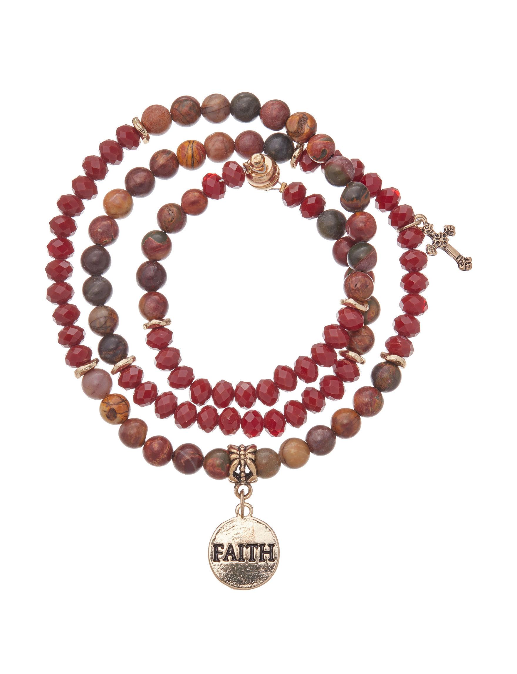 Tanya Dark Red Fine Jewelry