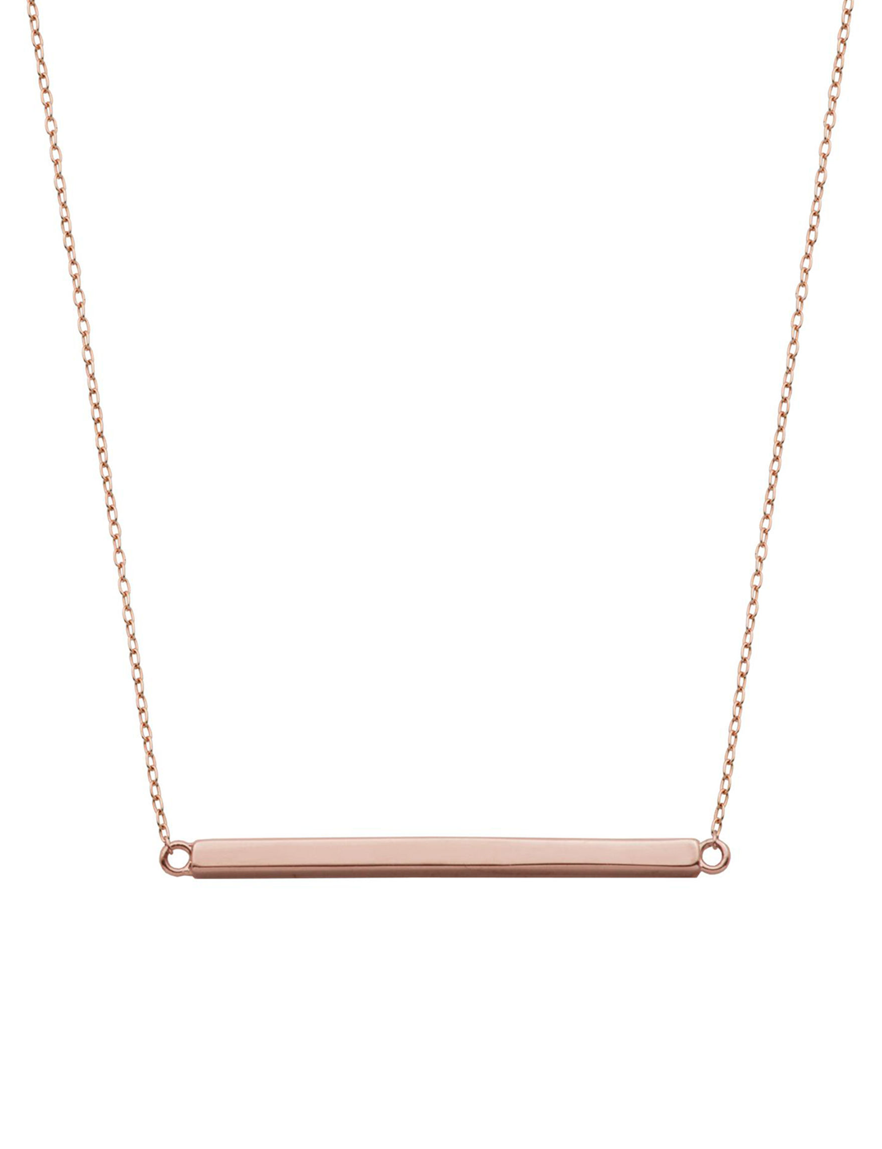 PAJ INC. Rose Gold Necklaces & Pendants Fine Jewelry