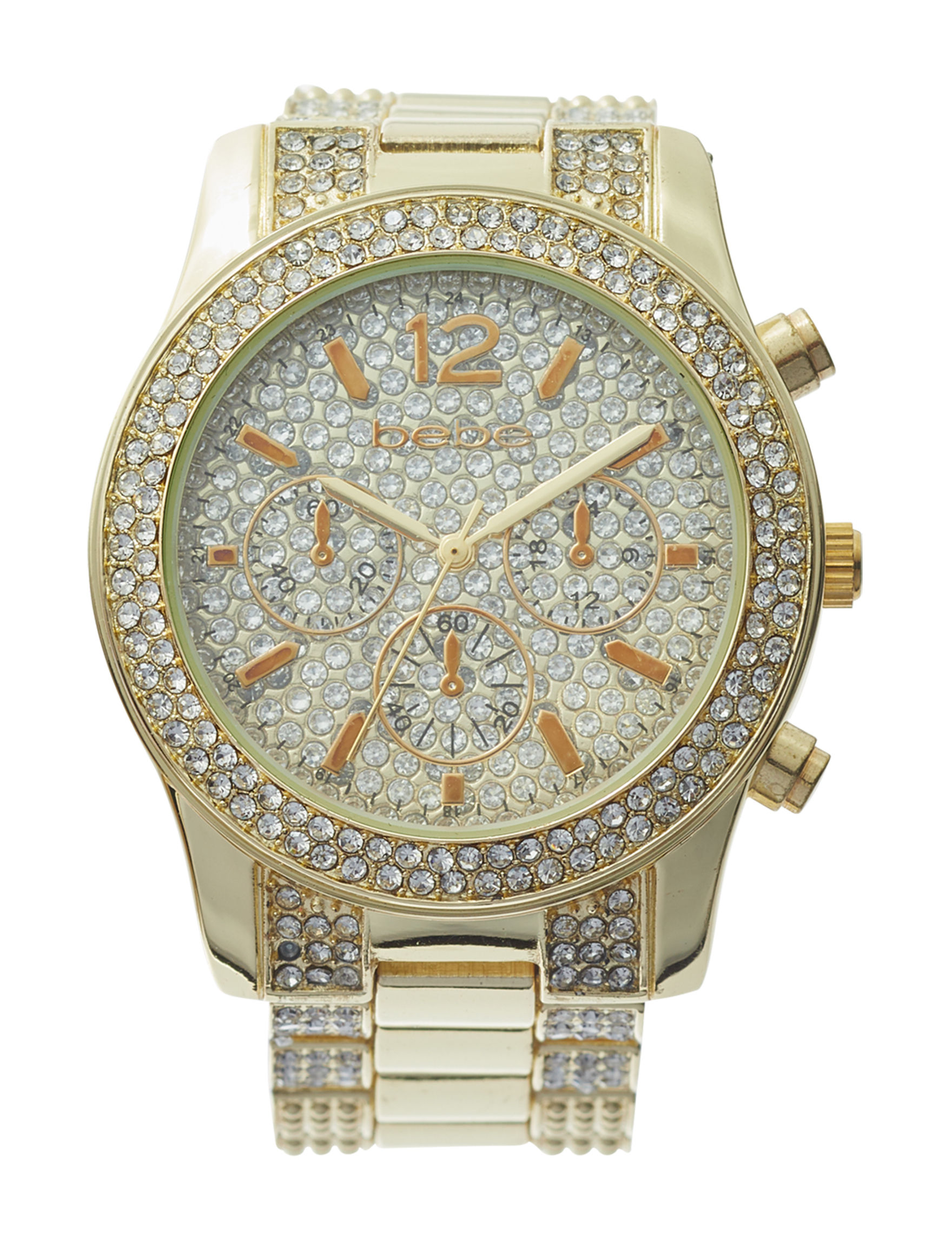 Bebe Gold Fashion Watches