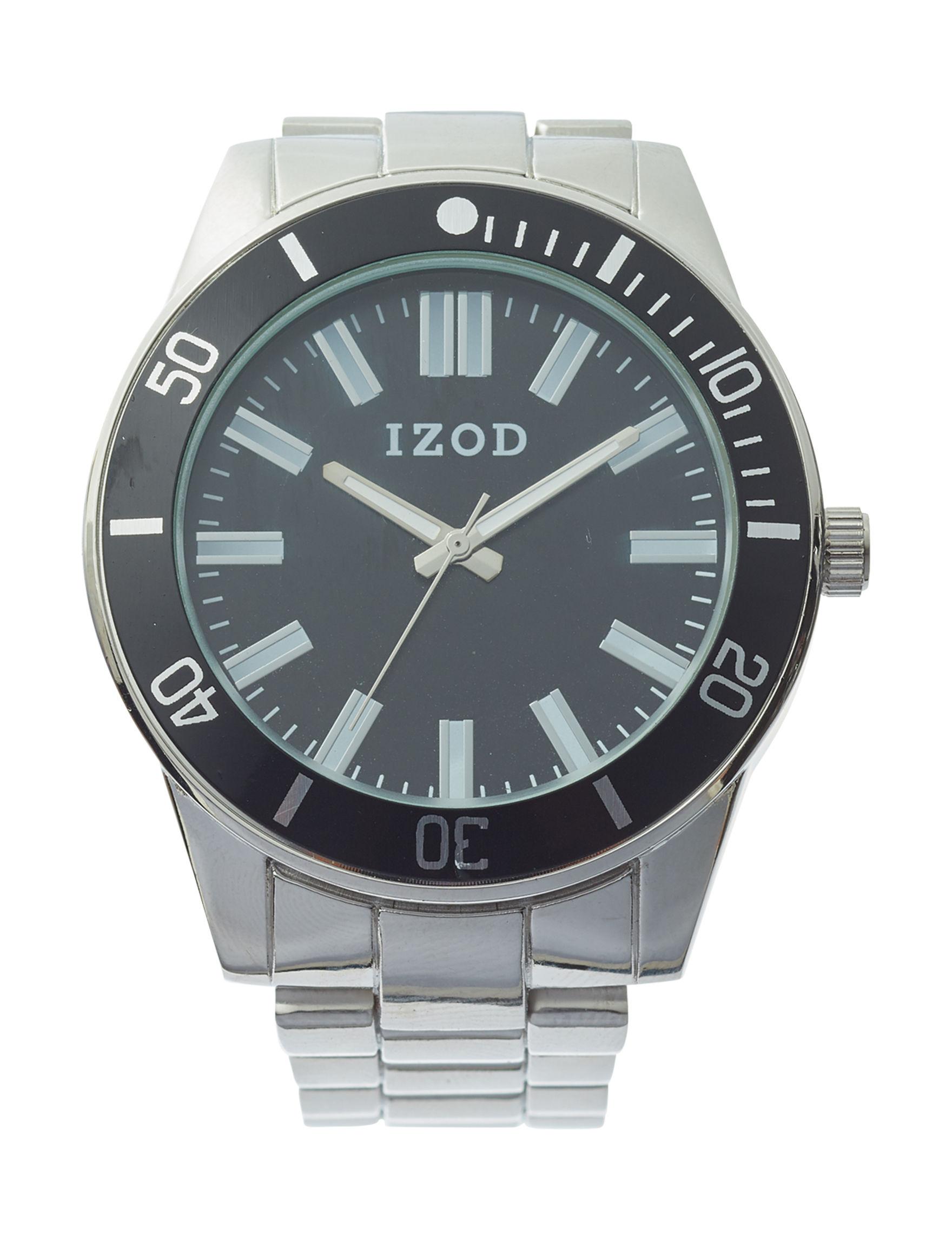 Izod Silver Fashion Watches
