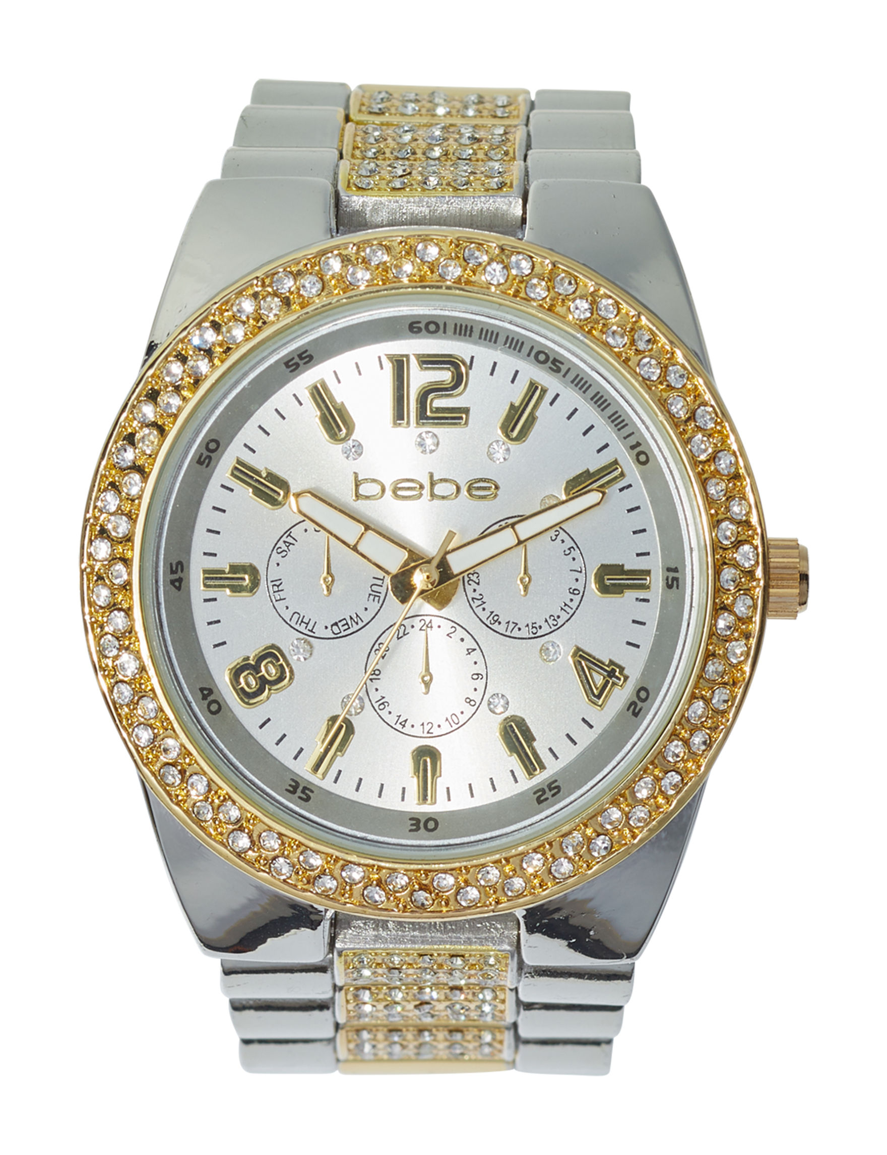 Bebe Silver / Gold Fashion Watches