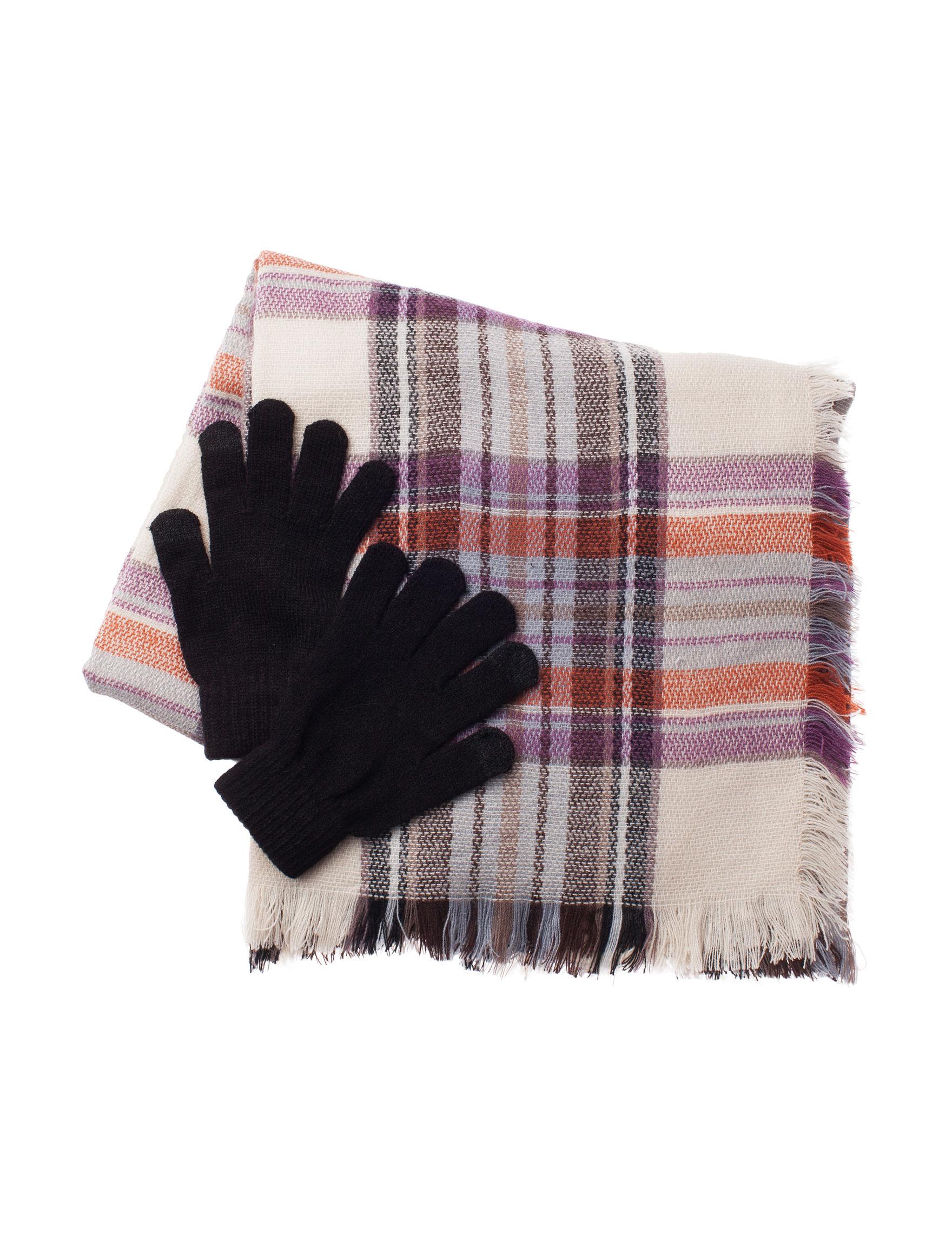 Steve Madden Beige / Multi Scarves & Wraps Scarves