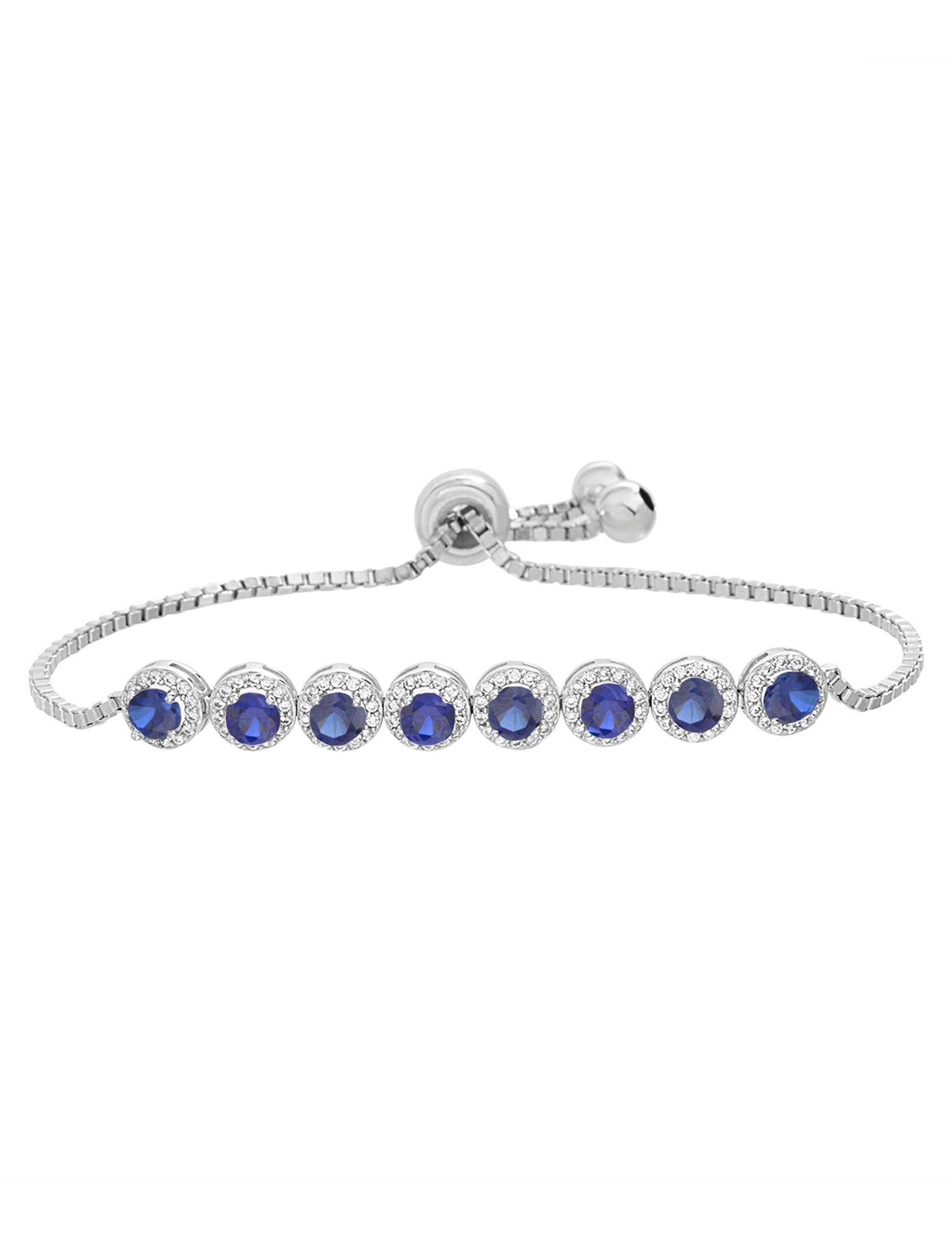 NES Sterling Silver Bracelets Fine Jewelry