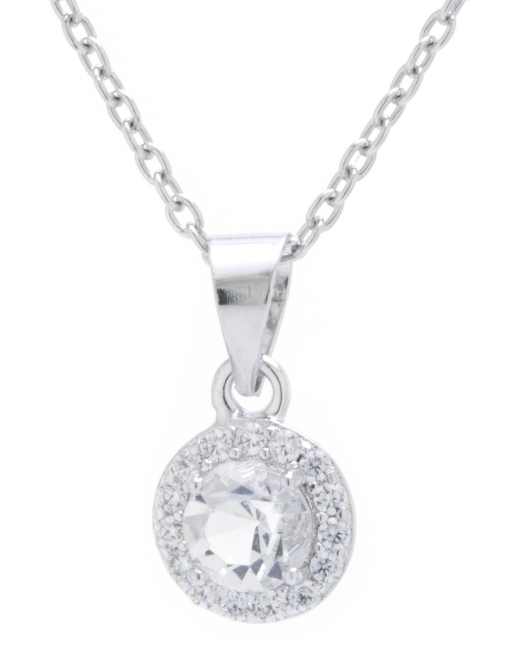 Athra Fine Silver Plated Necklaces & Pendants Fine Jewelry