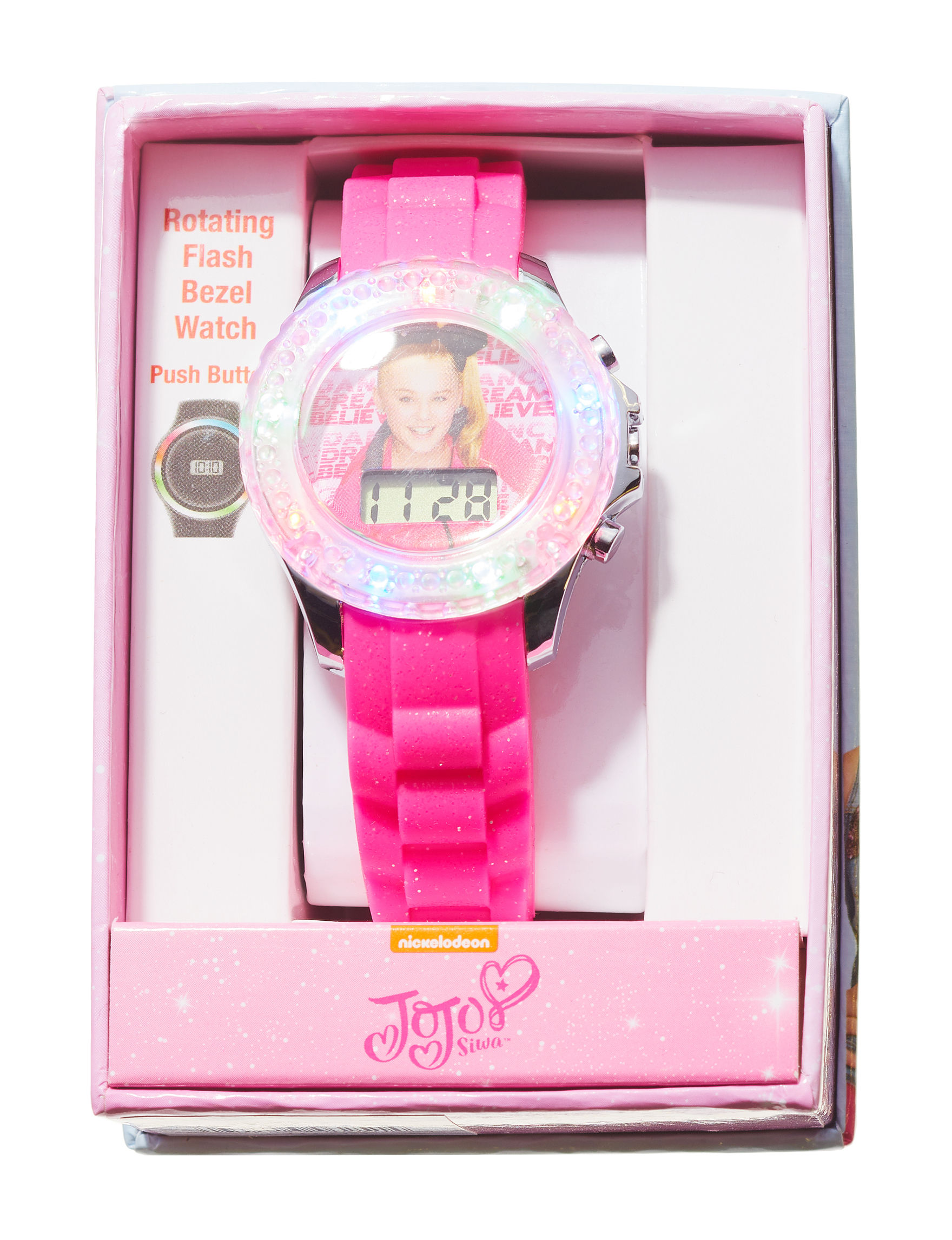 Licensed Pink Fashion Watches
