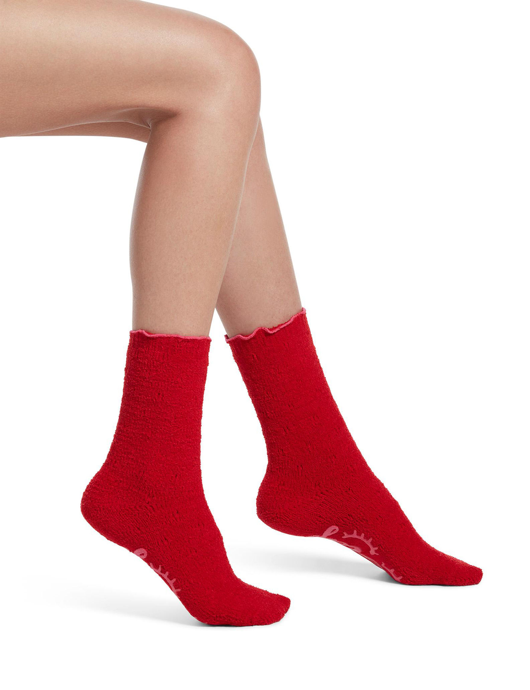 Hue Red Socks