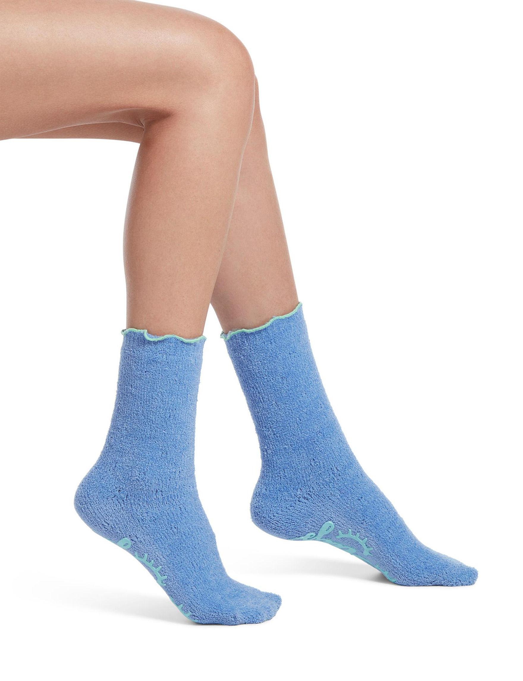 Hue Sky Blue Socks
