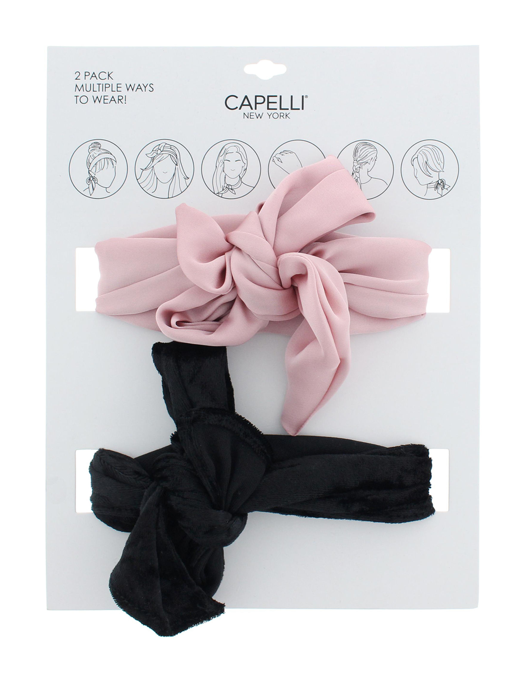 Capelli Black / Pink Hats & Headwear