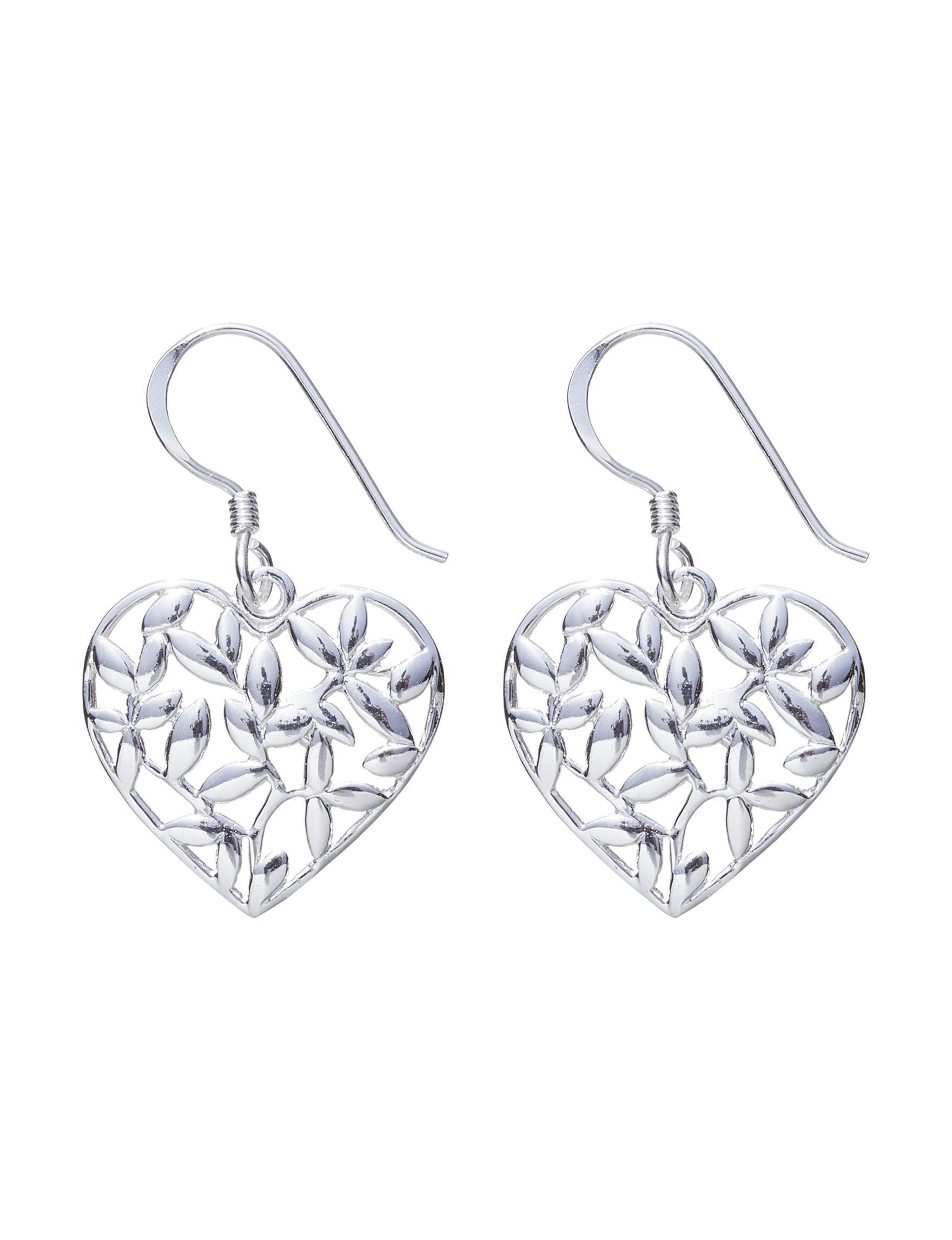 Marsala Sterling Silver Drops Fine Jewelry