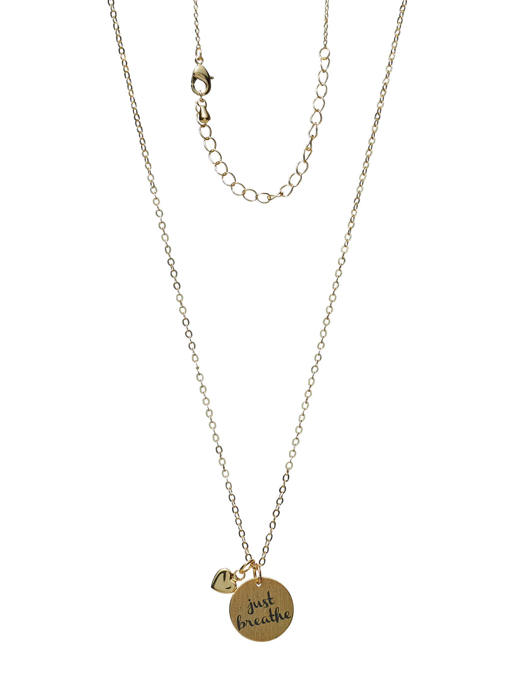 City by City Gold Necklaces & Pendants Fashion Jewelry