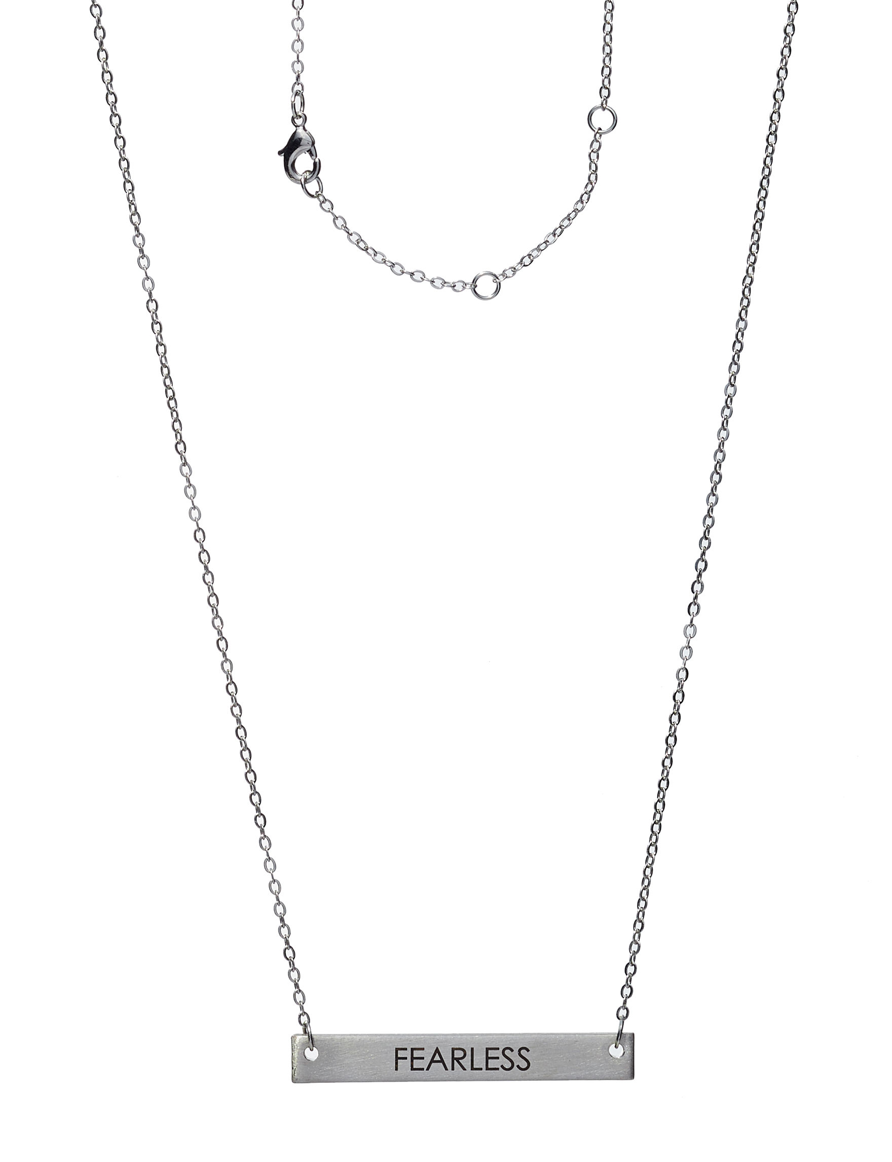City by City Silver Necklaces & Pendants Fashion Jewelry