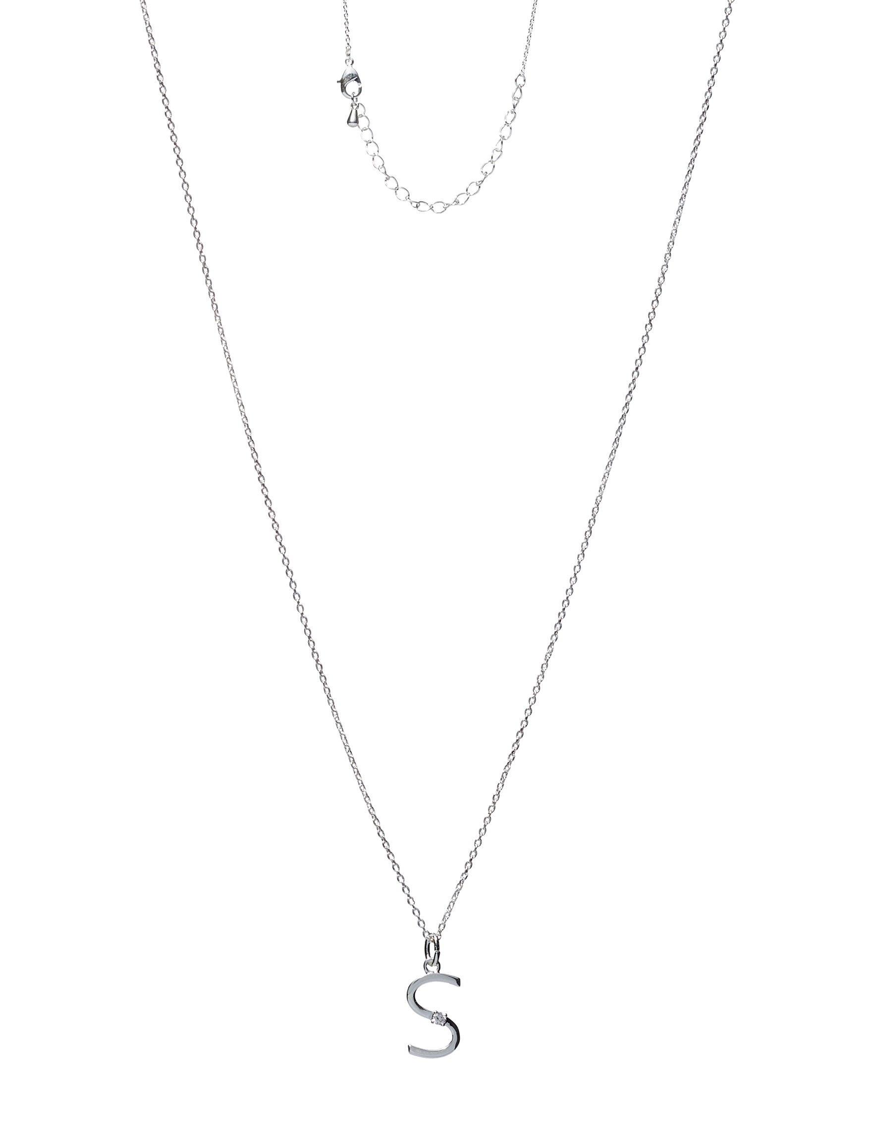 City by City Silver / Crystal Necklaces & Pendants Fashion Jewelry