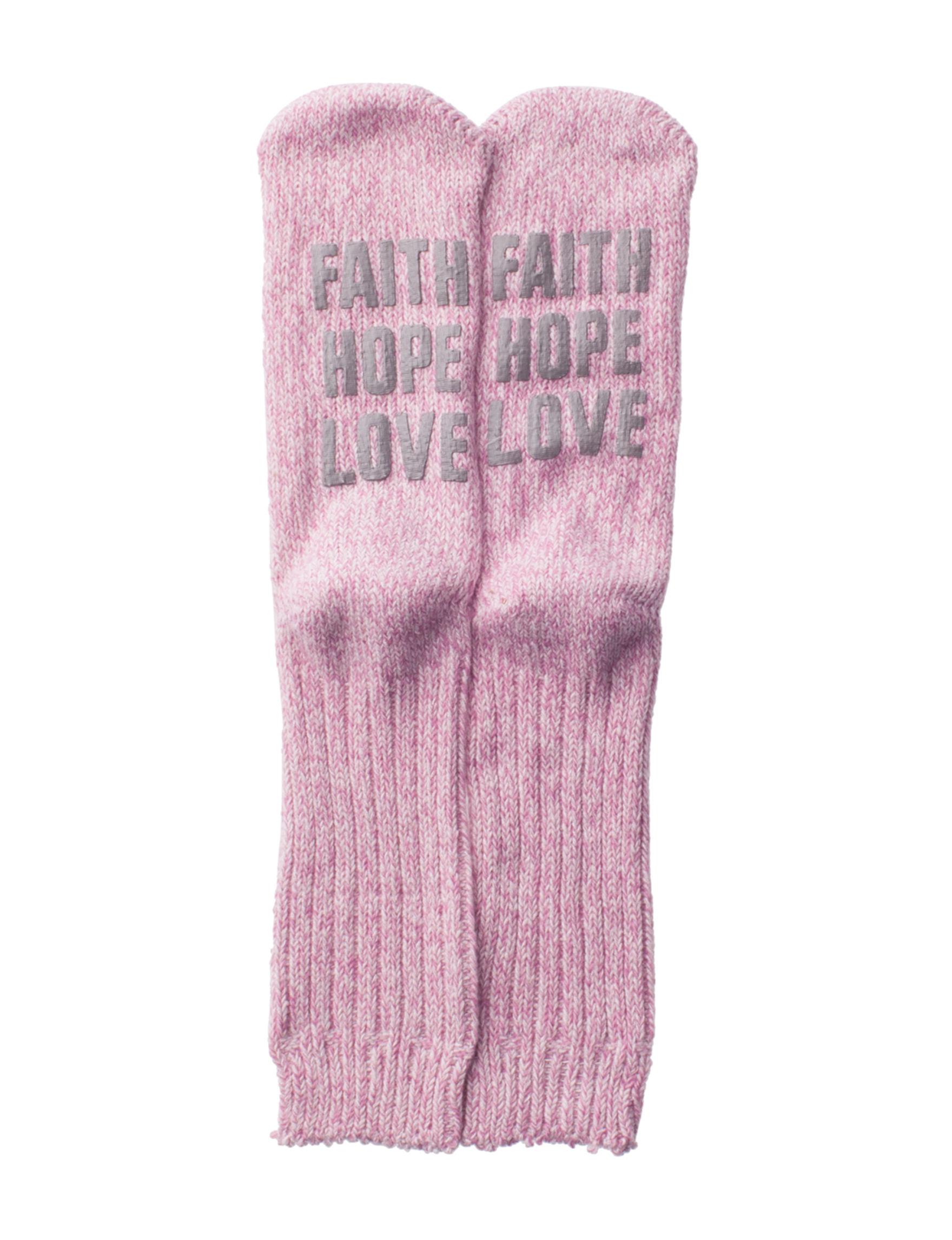 Keep Your Socks On Pink Socks