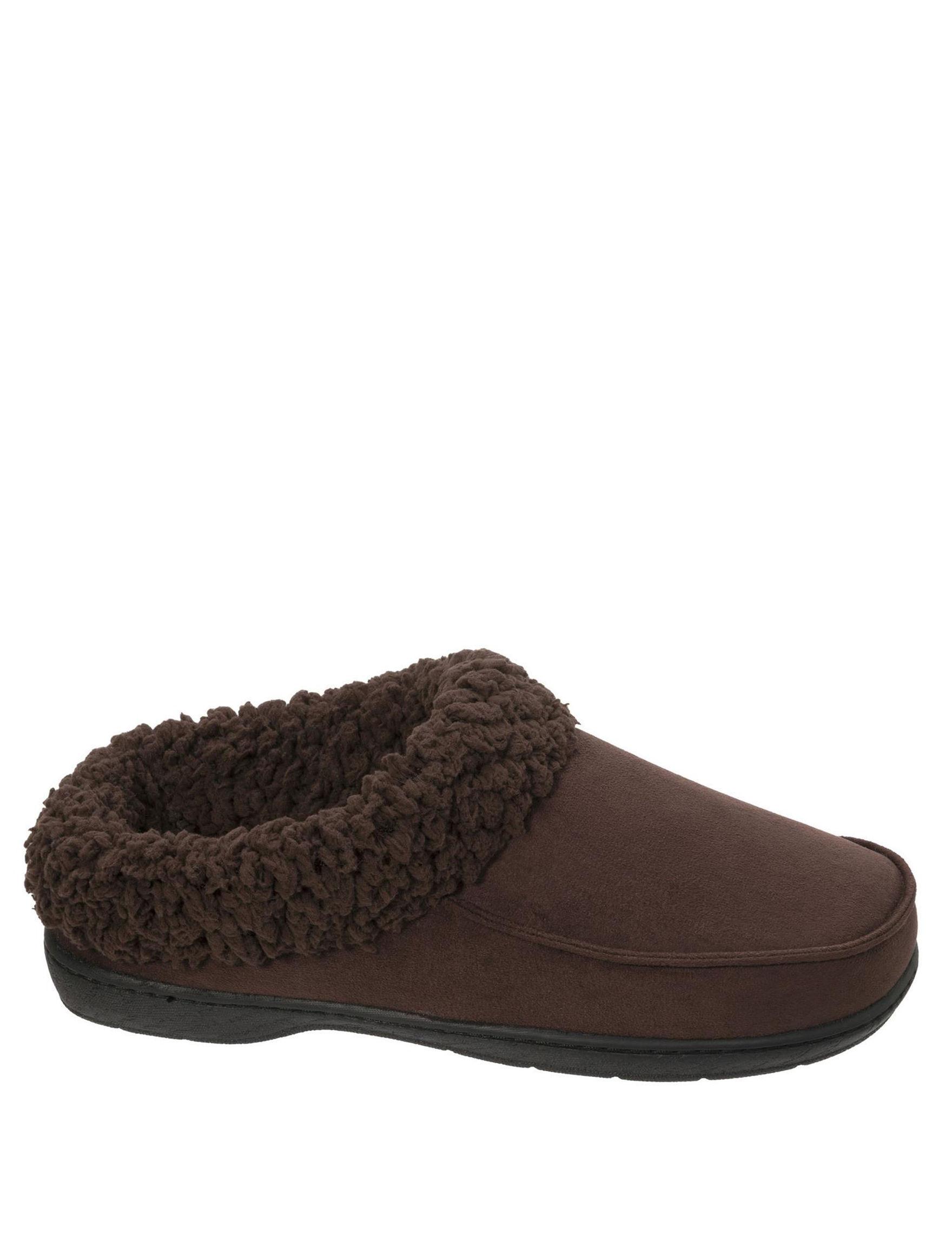 Dearfoams Espresso Slipper Shoes
