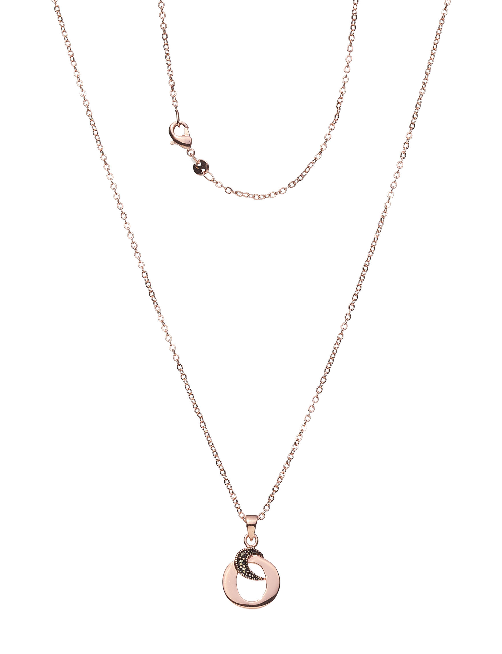 Marsala Rose Gold Necklaces & Pendants Fine Jewelry