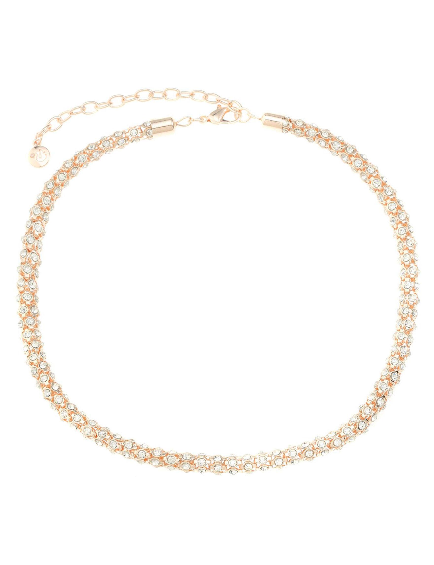 Gloria Vanderbilt Rose Gold Necklaces & Pendants Fashion Jewelry