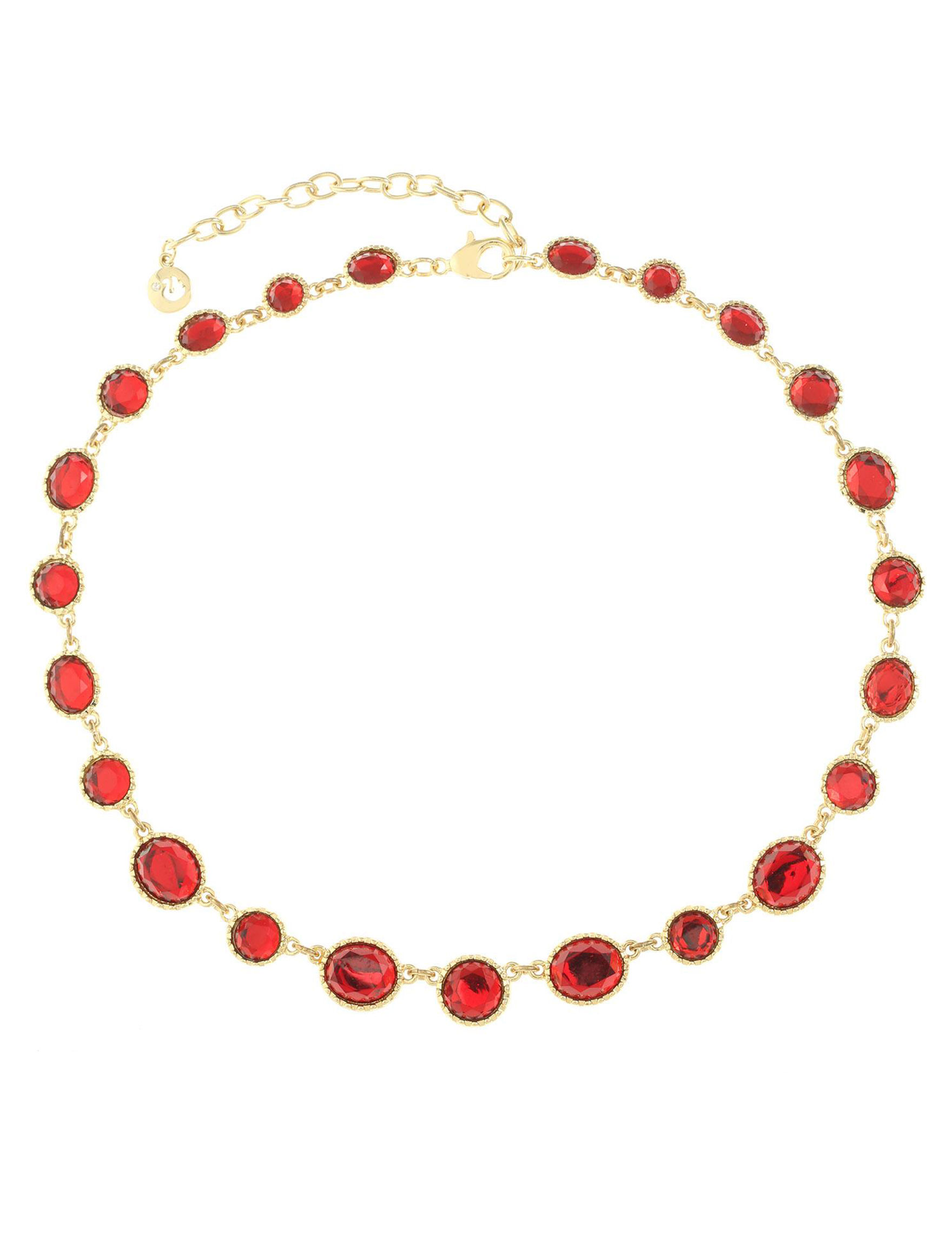 Gloria Vanderbilt Red / Gold Necklaces & Pendants Fashion Jewelry