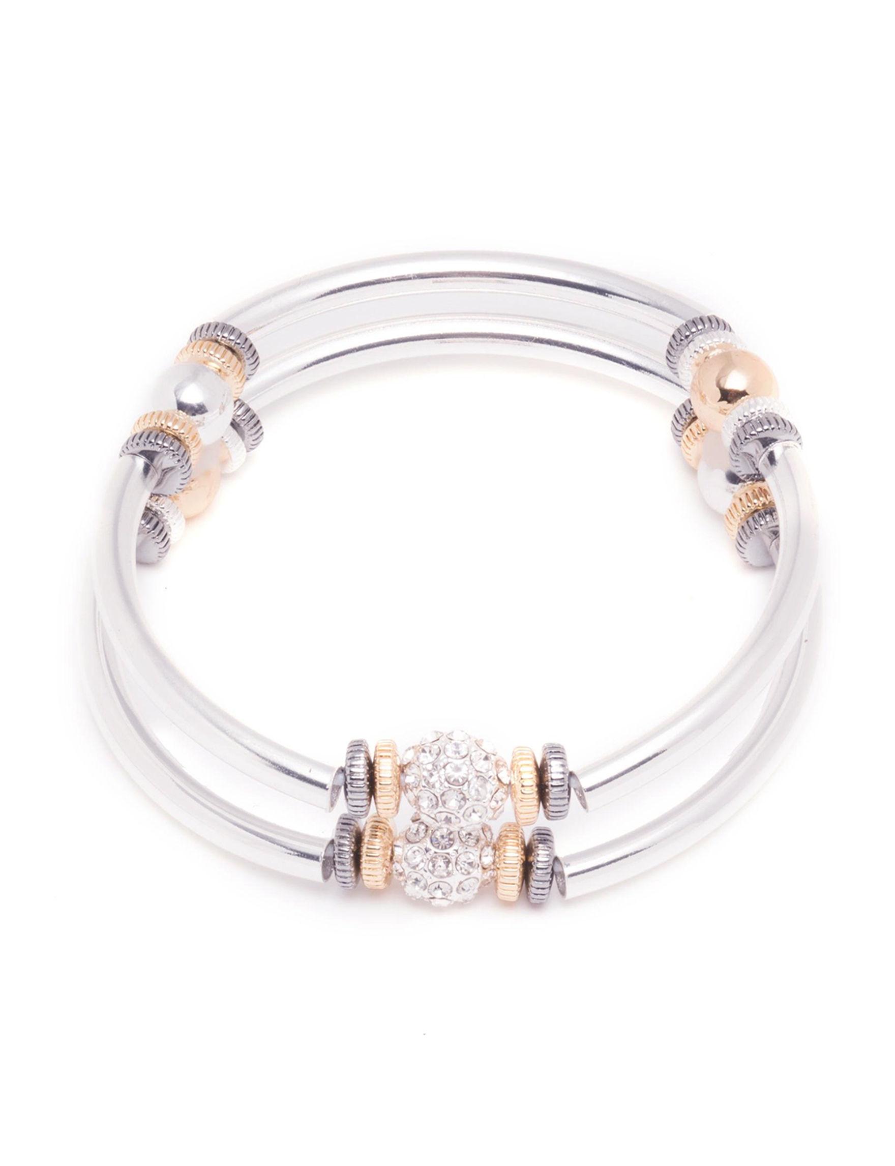Nine West Silver / Gold Bracelets Fashion Jewelry