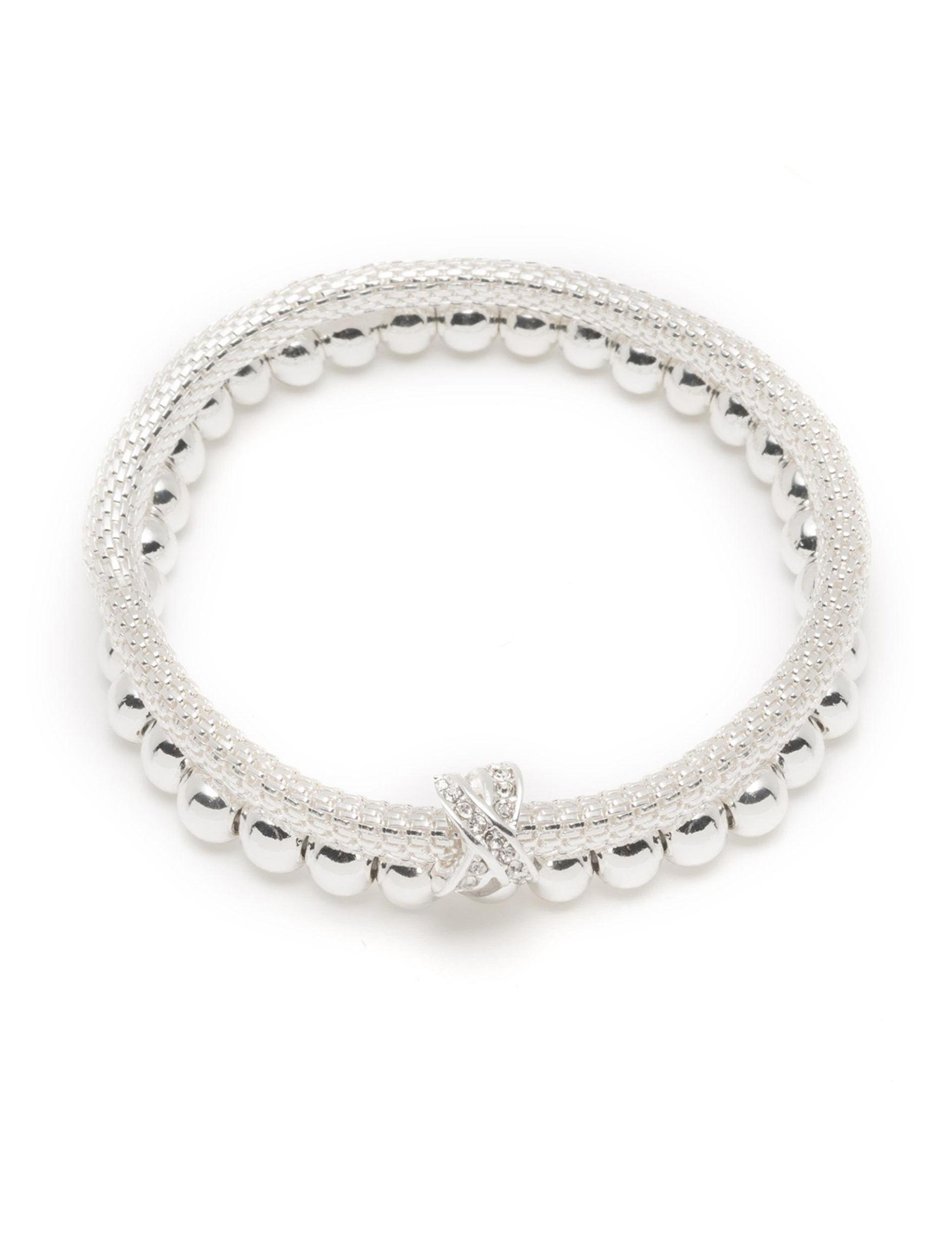 Nine West Silver Bracelets Fashion Jewelry