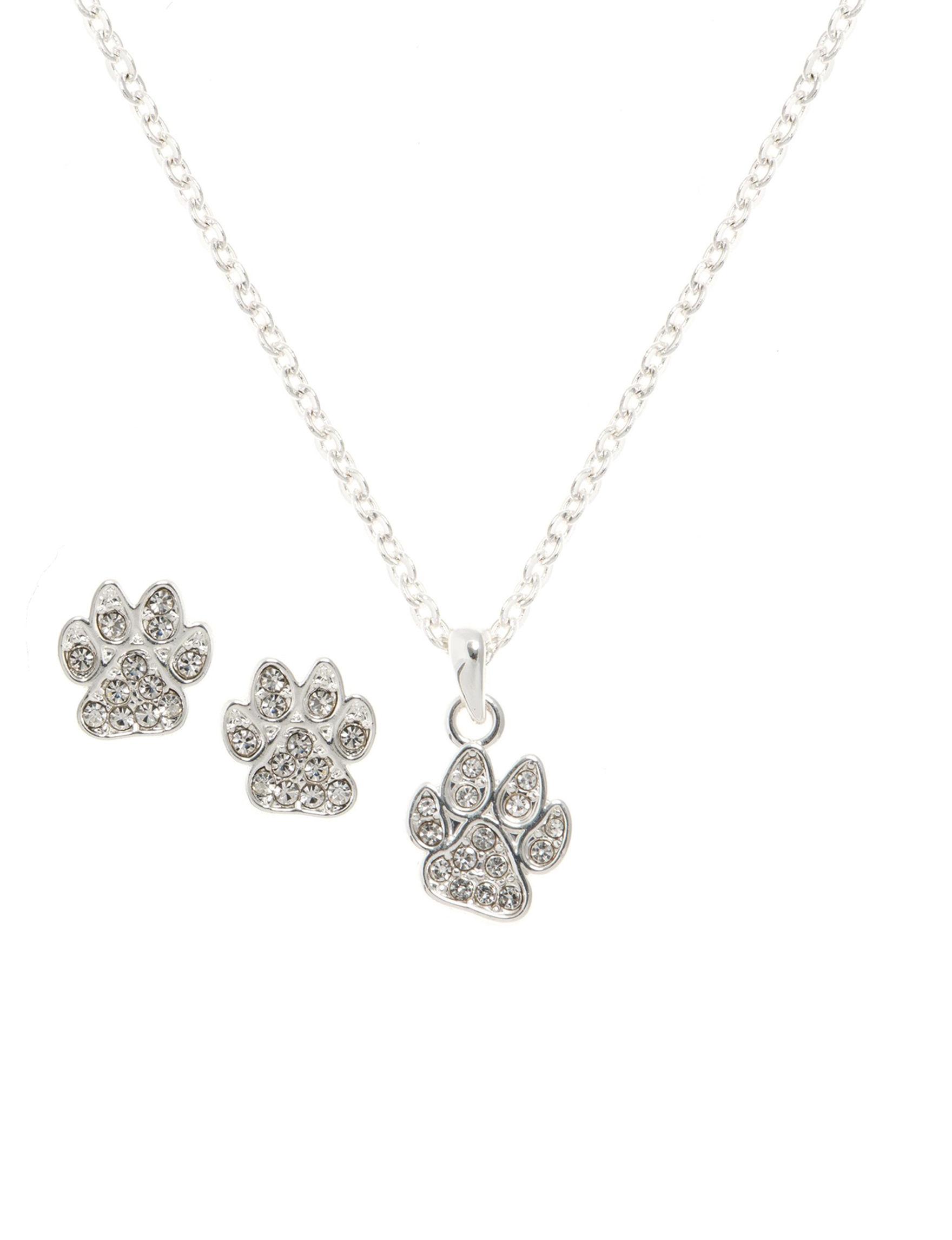Pet Friends Silver Jewelry Sets Fashion Jewelry