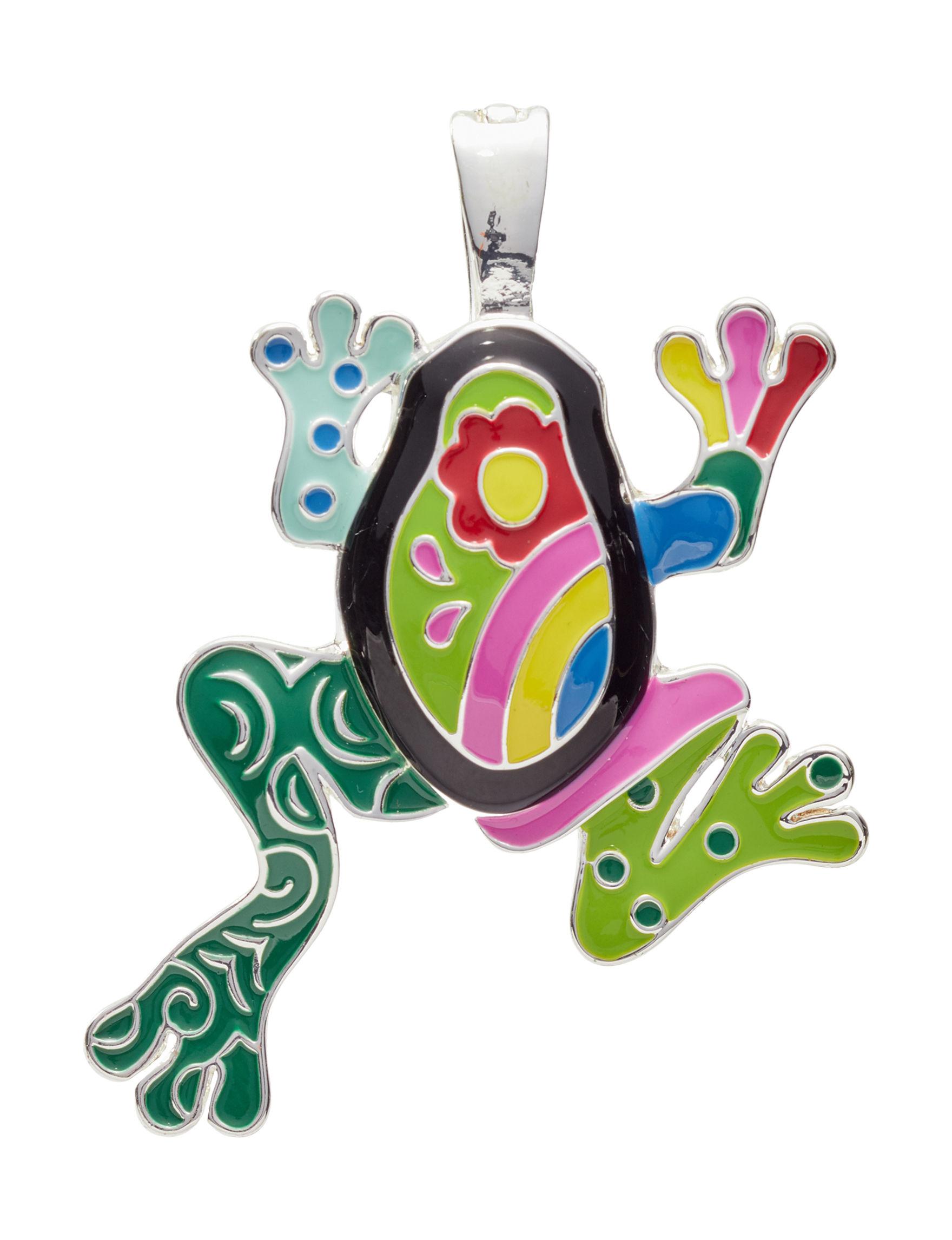 Wearable Art Green Multi Necklaces & Pendants Fashion Jewelry