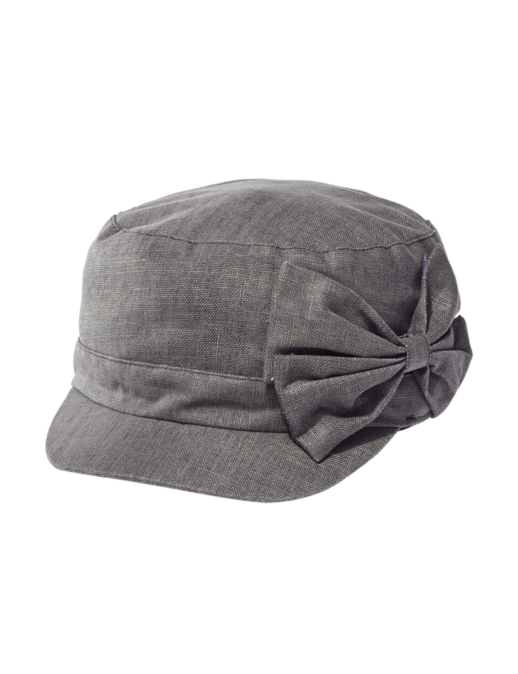 David & Young Light Grey Hats & Headwear