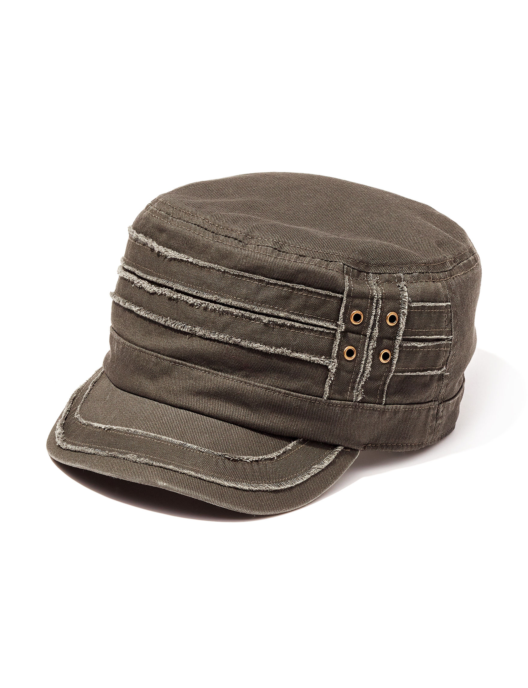 David & Young Dark Grey Hats & Headwear