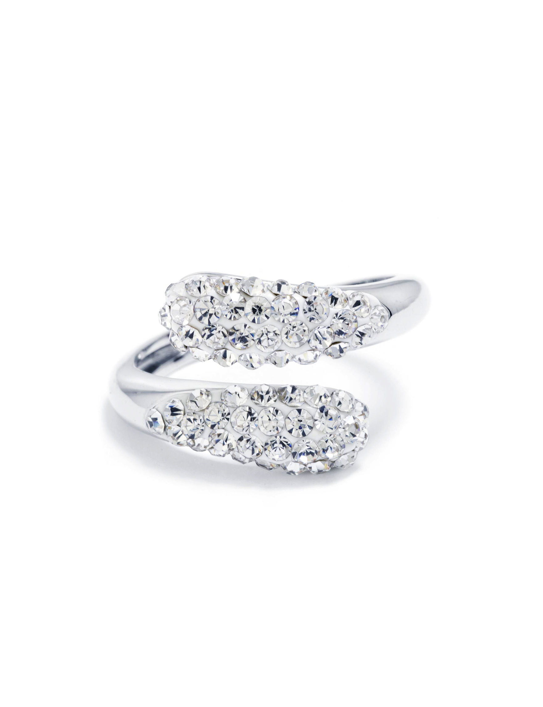 Athra Silver / Crystal Rings Fine Jewelry